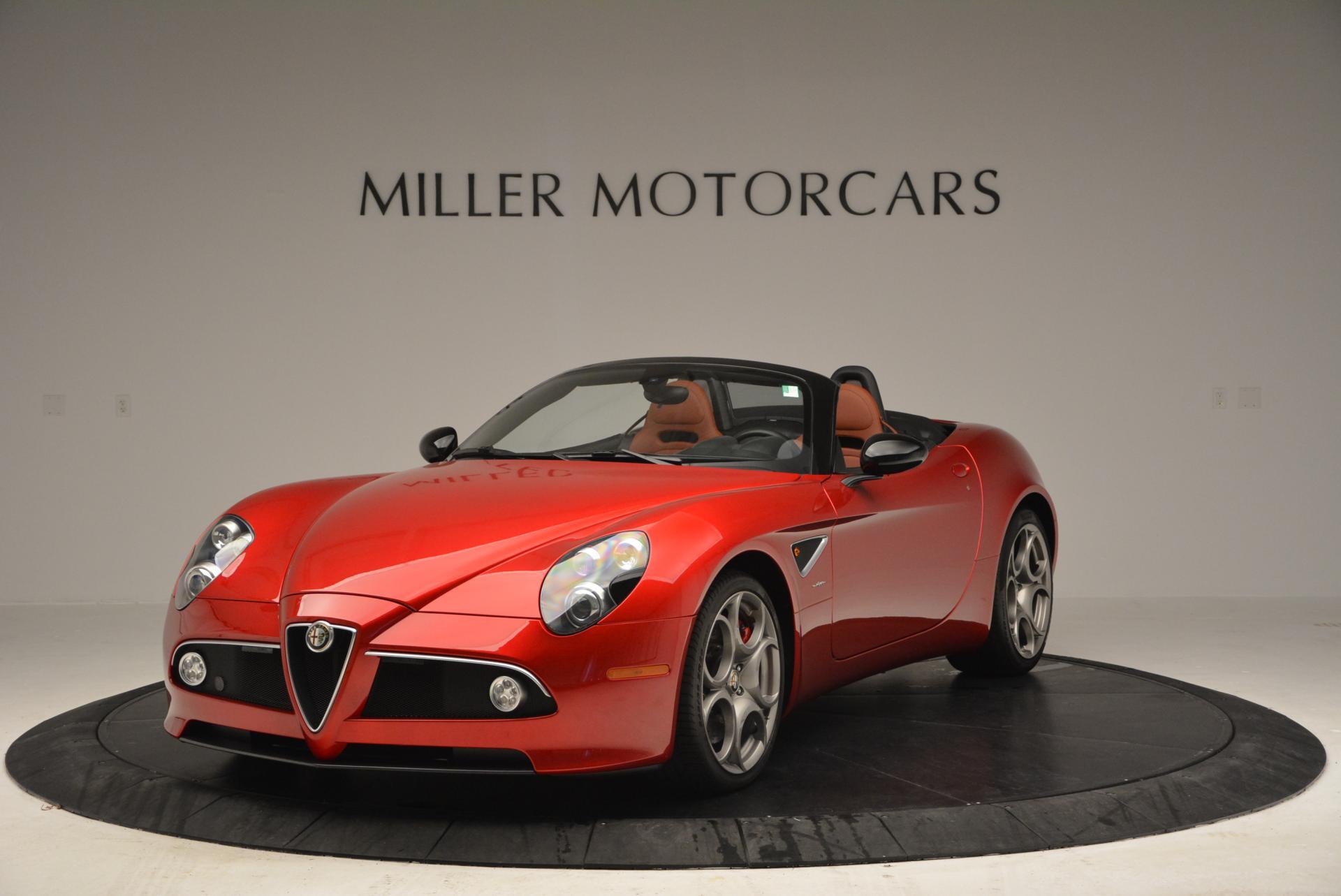 Used 2009 Alfa Romeo 8C COMPETIZIONE Spider For Sale In Greenwich, CT 1_main