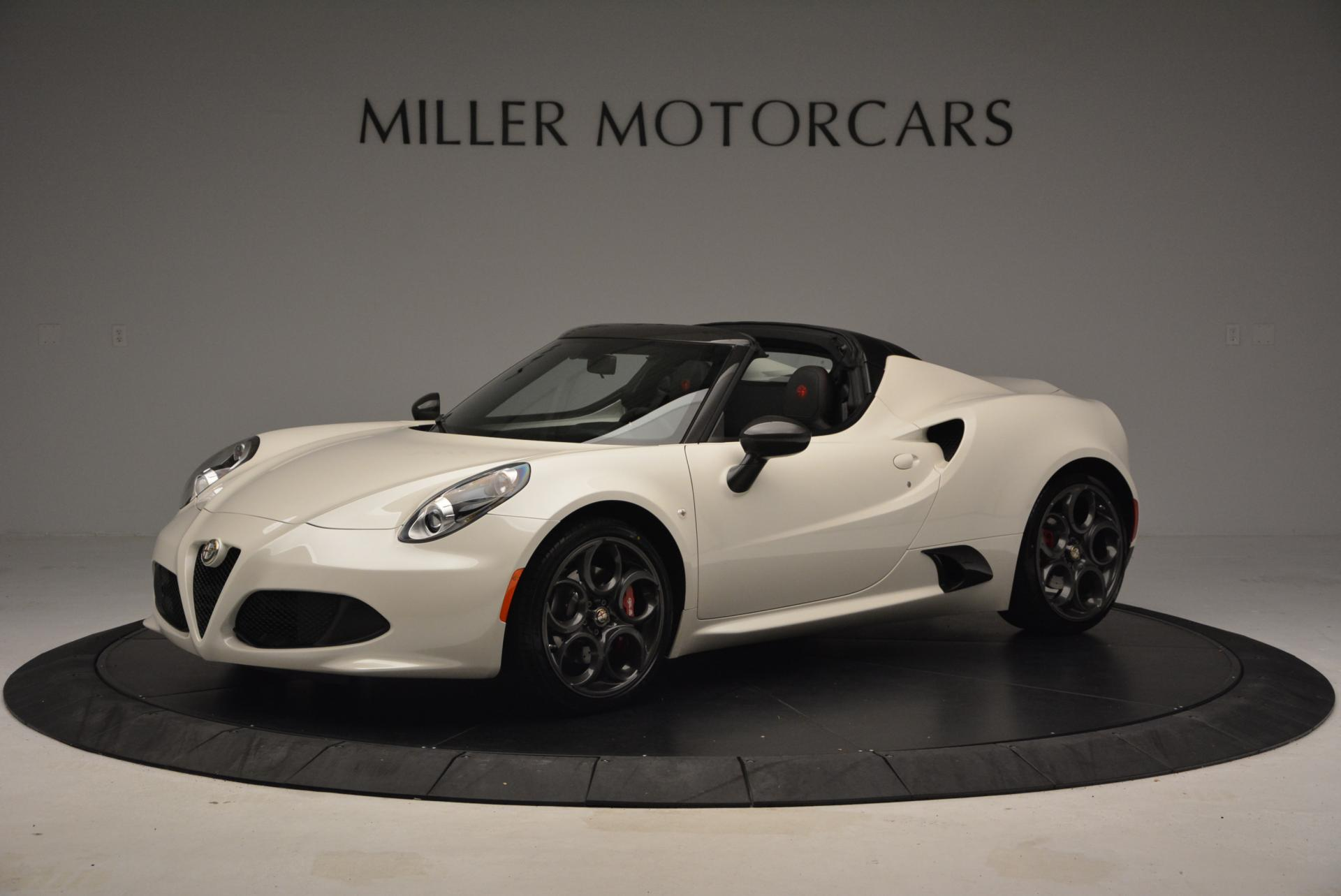 New 2015 Alfa Romeo 4C Spider  For Sale In Greenwich, CT 10_p2