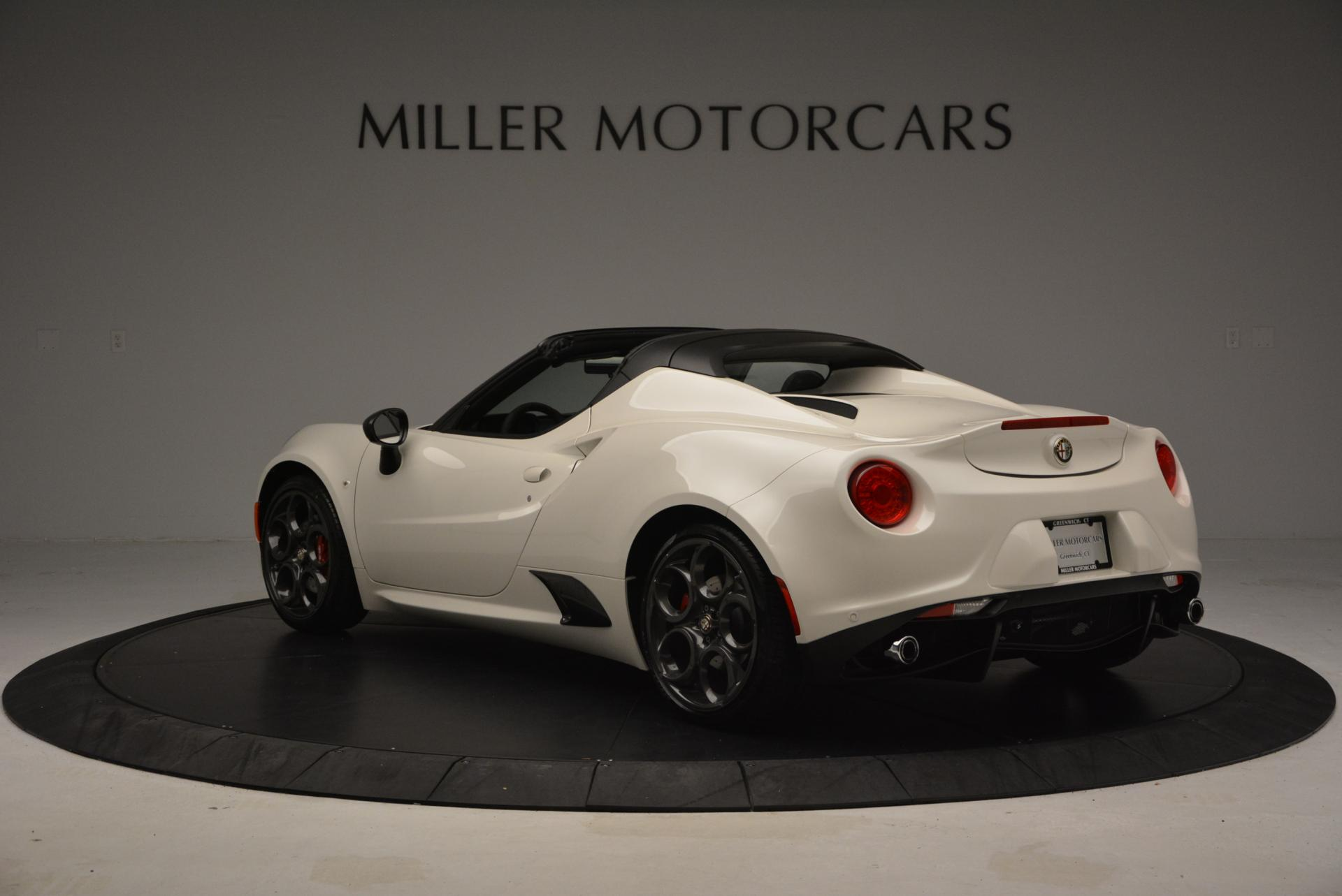 New 2015 Alfa Romeo 4C Spider  For Sale In Greenwich, CT 10_p5