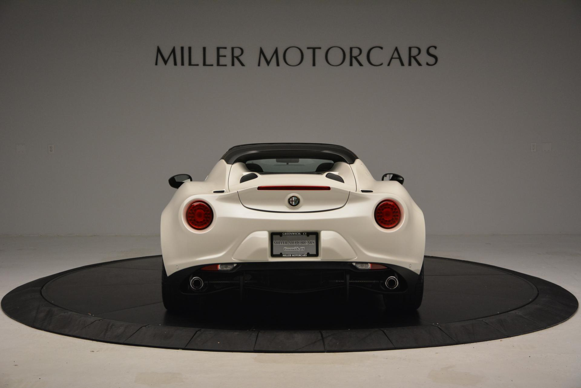 New 2015 Alfa Romeo 4C Spider  For Sale In Greenwich, CT 10_p6