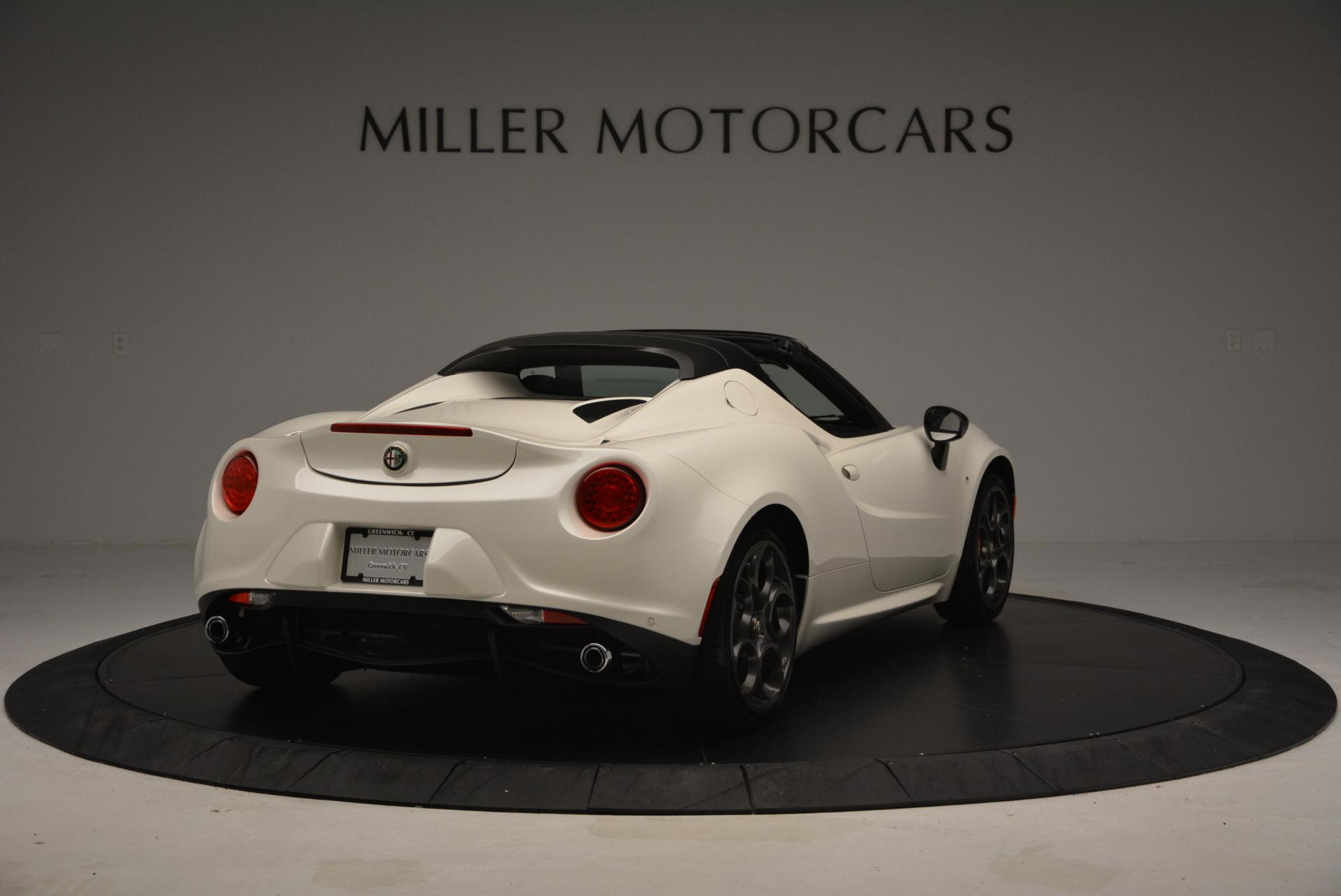 New 2015 Alfa Romeo 4C Spider  For Sale In Greenwich, CT 10_p7