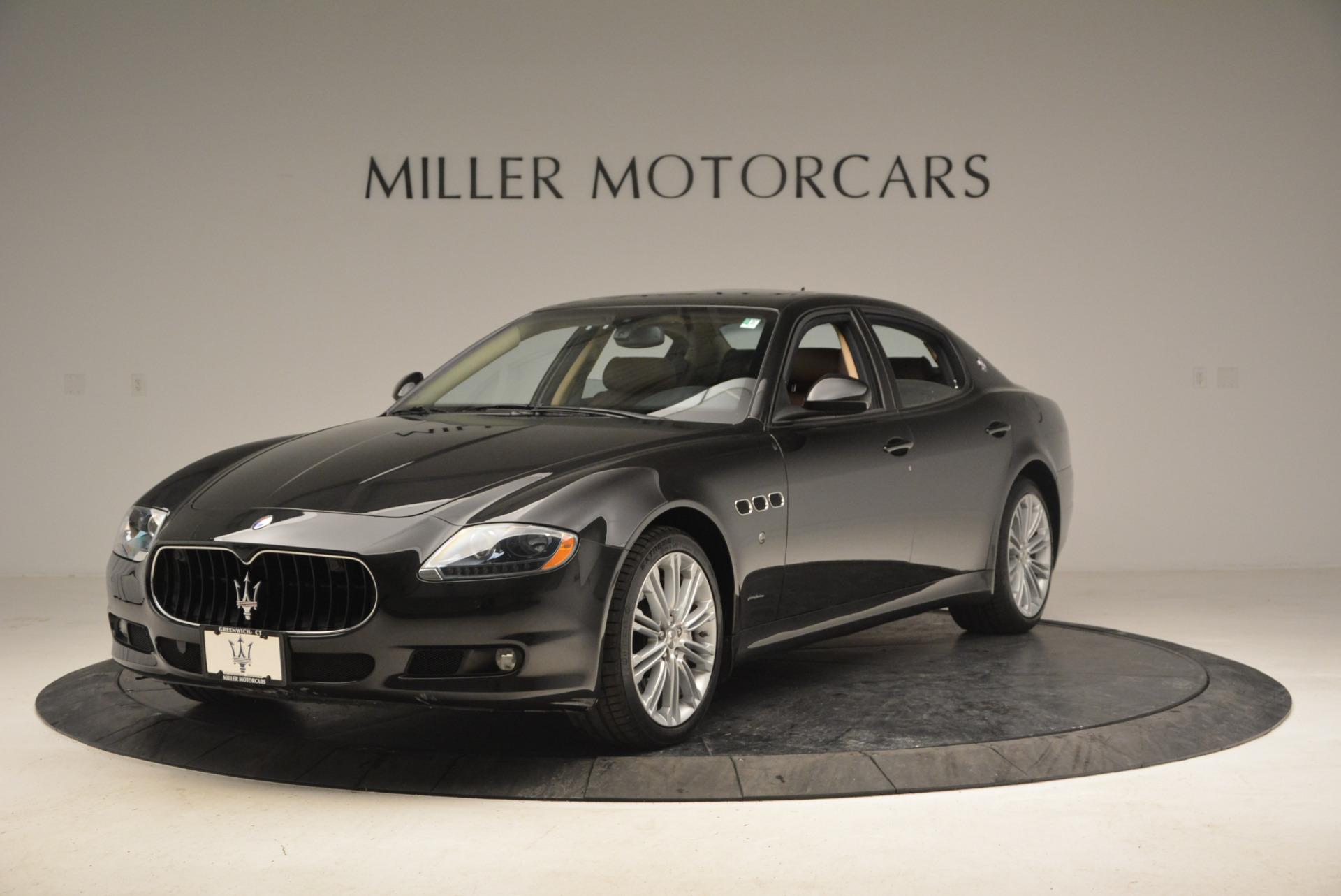 Used 2013 Maserati Quattroporte S For Sale In Greenwich, CT 1012_main