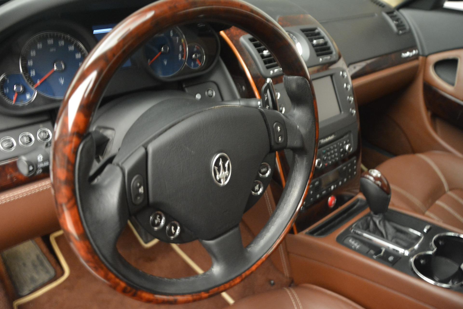 Used 2013 Maserati Quattroporte S For Sale In Greenwich, CT 1012_p16