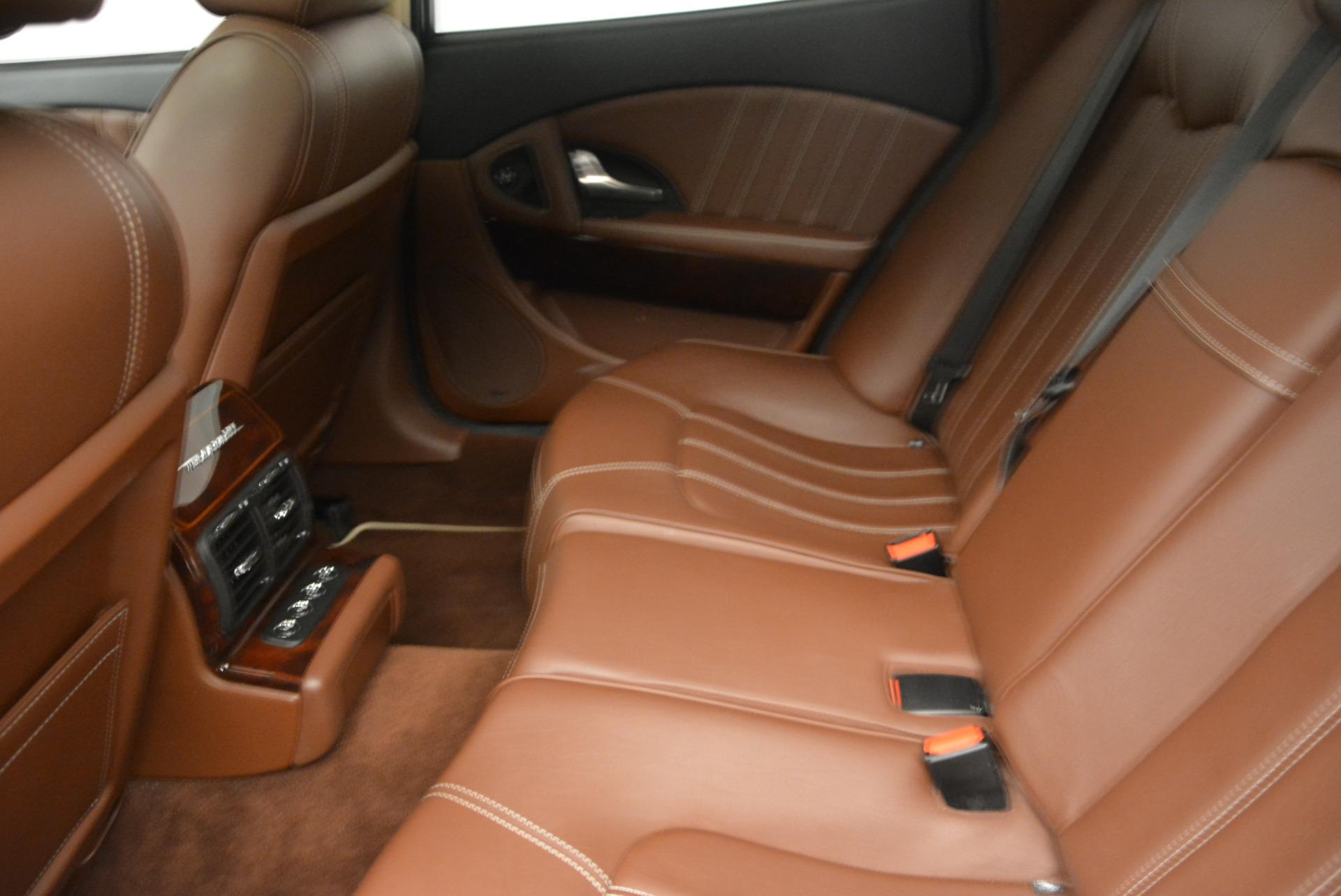 Used 2013 Maserati Quattroporte S For Sale In Greenwich, CT 1012_p18