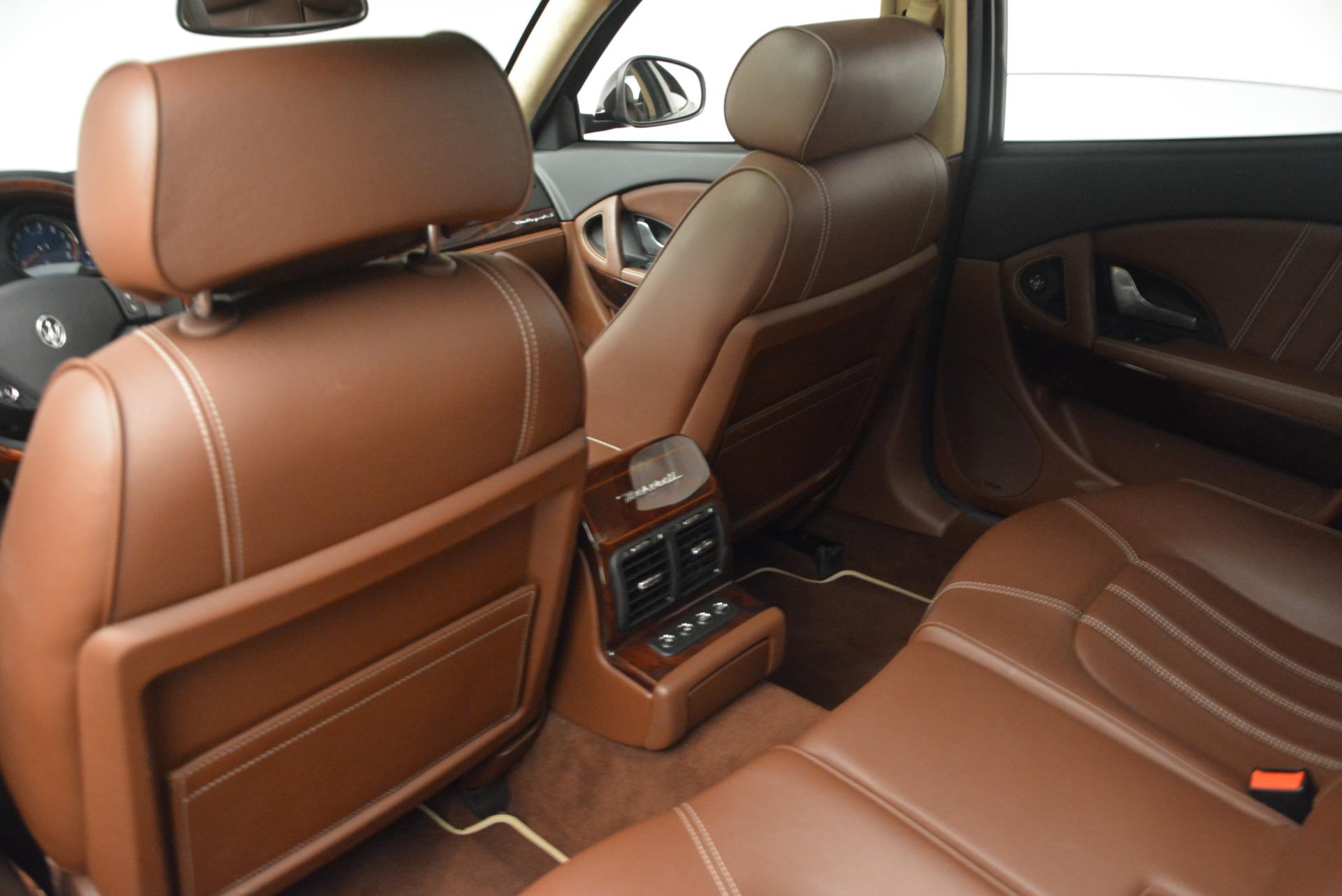 Used 2013 Maserati Quattroporte S For Sale In Greenwich, CT 1012_p19