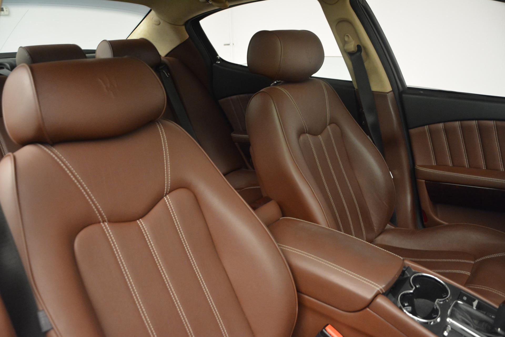 Used 2013 Maserati Quattroporte S For Sale In Greenwich, CT 1012_p20