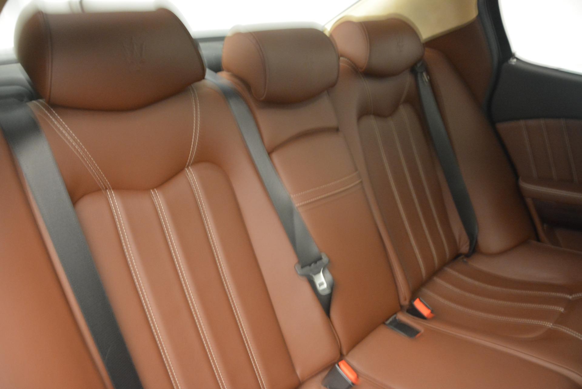 Used 2013 Maserati Quattroporte S For Sale In Greenwich, CT 1012_p23