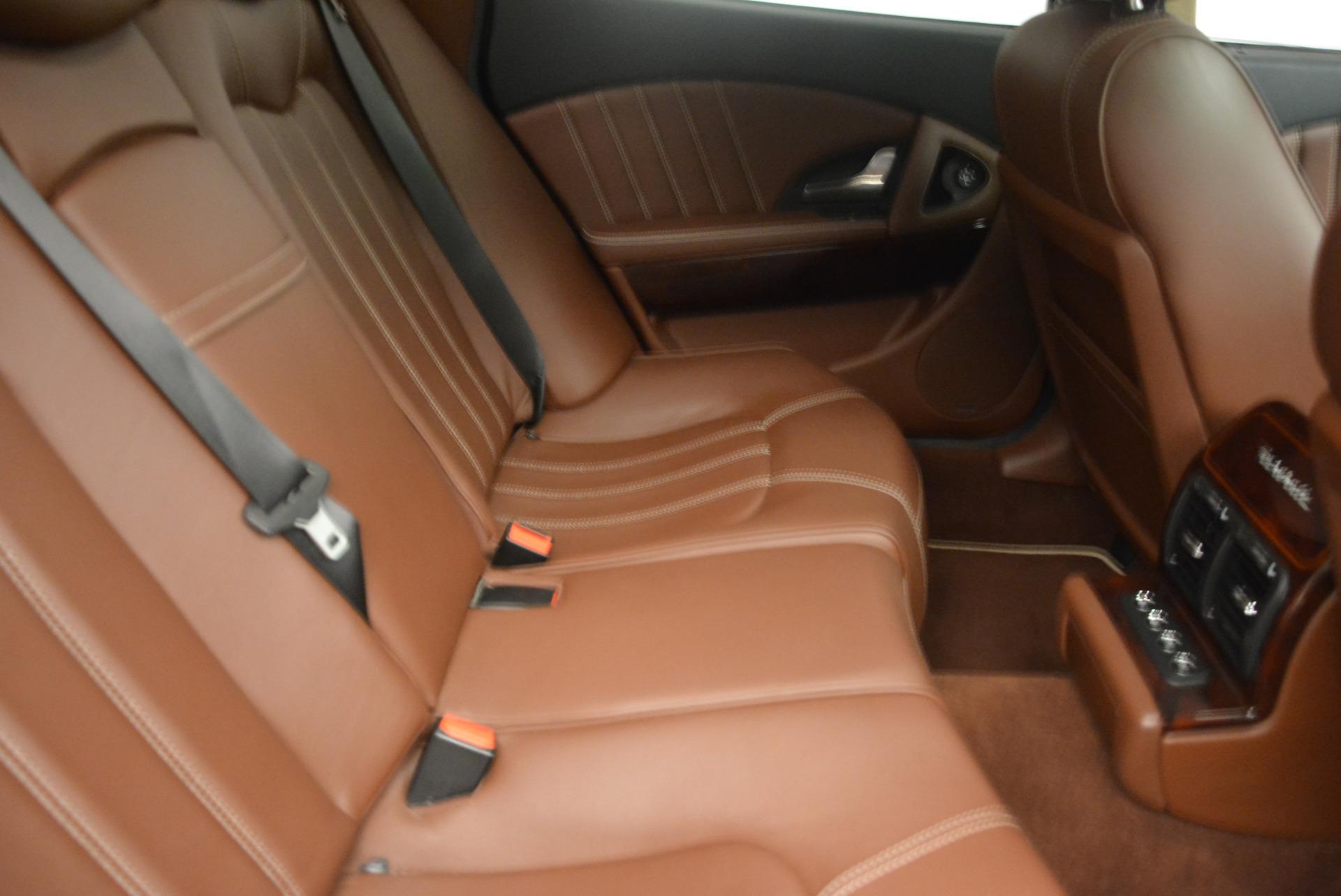 Used 2013 Maserati Quattroporte S For Sale In Greenwich, CT 1012_p24