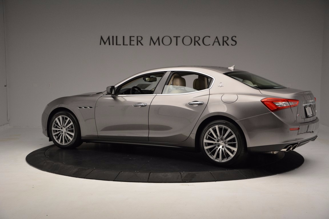 New 2017 Maserati Ghibli S Q4 EX-Loaner For Sale In Greenwich, CT 1018_p3