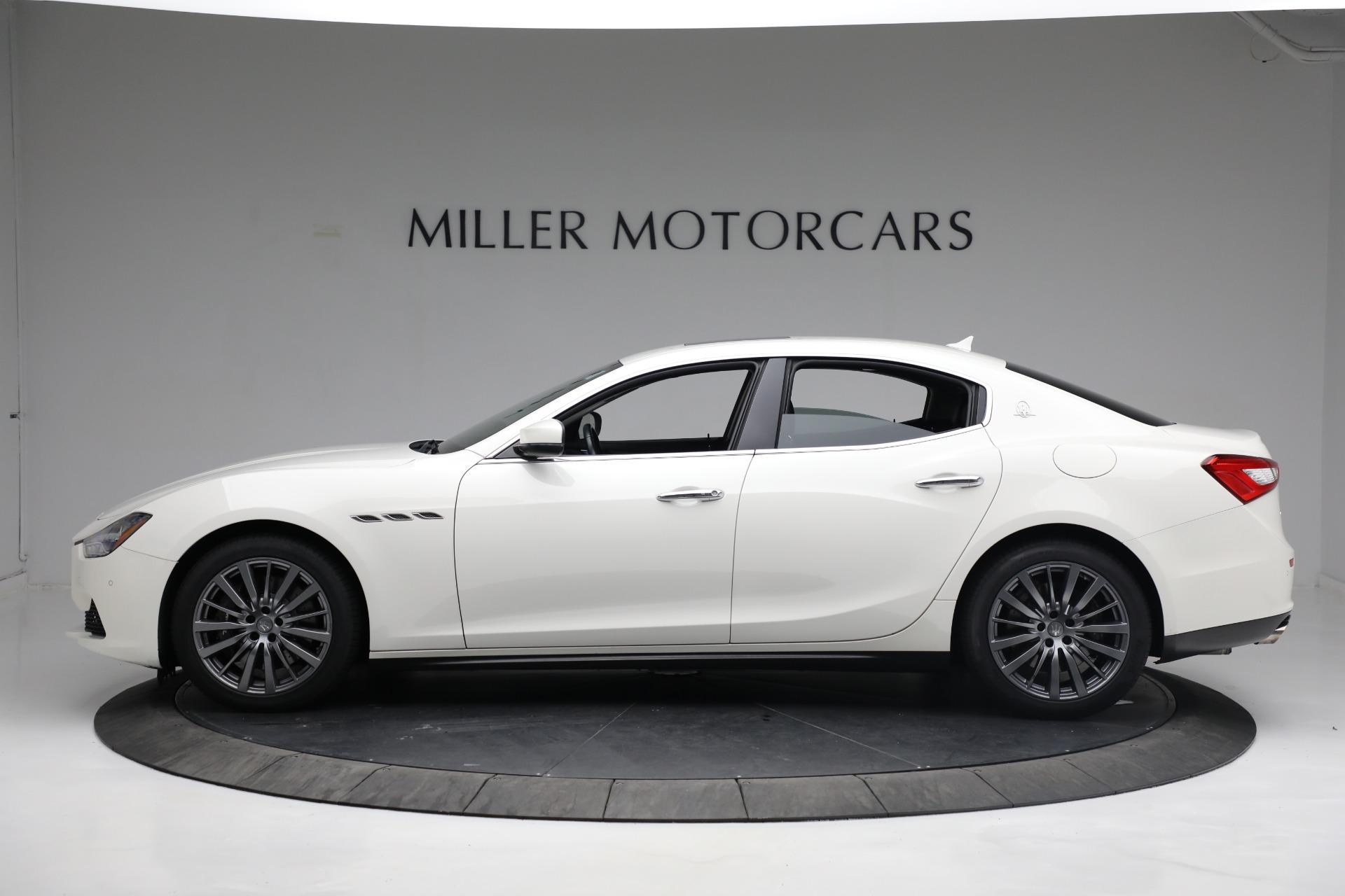 New 2017 Maserati Ghibli S Q4 EX-Loaner For Sale In Greenwich, CT 1019_p3