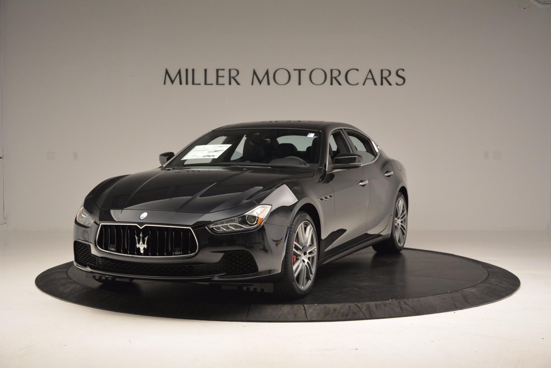 New 2017 Maserati Ghibli S Q4 For Sale In Greenwich, CT 1022_main