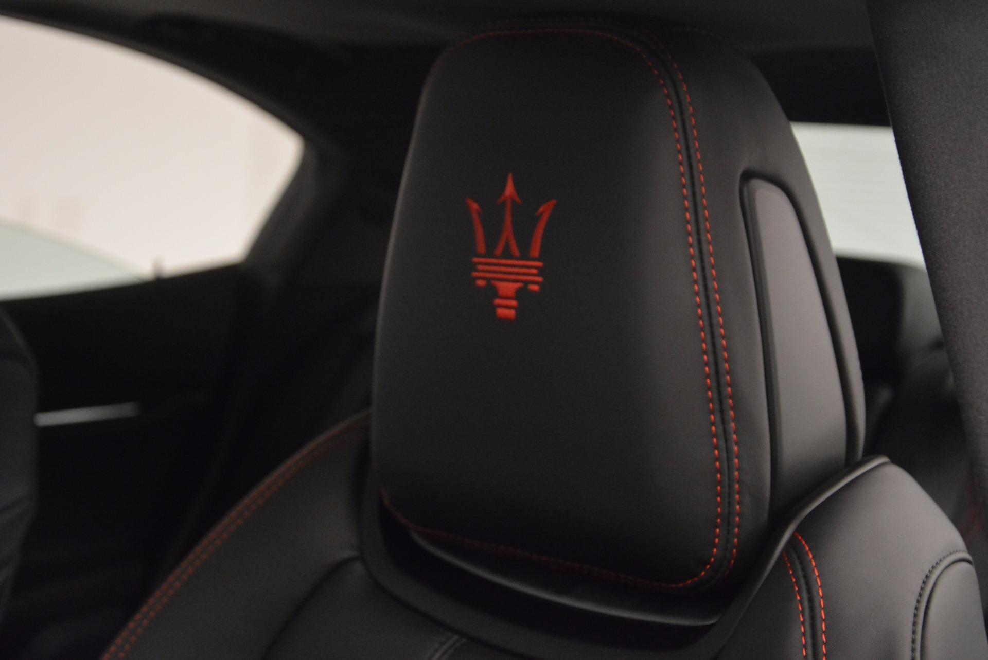 New 2017 Maserati Ghibli S Q4 For Sale In Greenwich, CT 1022_p19
