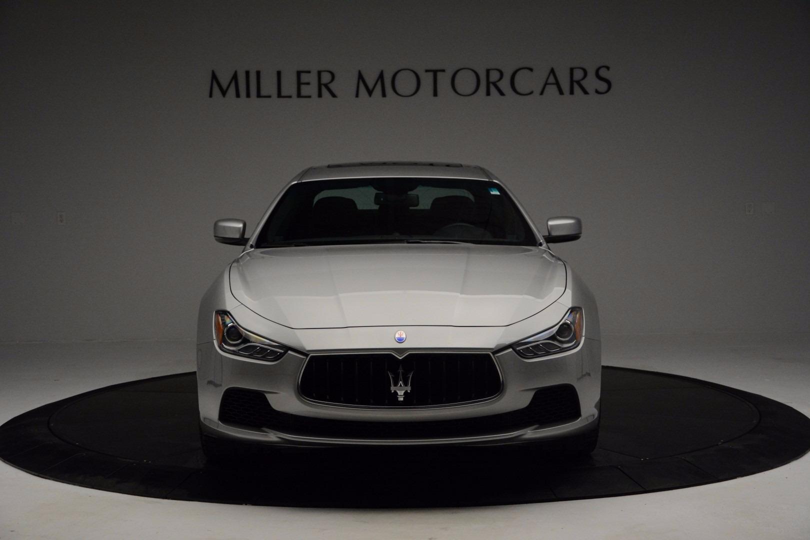 New 2017 Maserati Ghibli S Q4 For Sale In Greenwich, CT 1030_p12