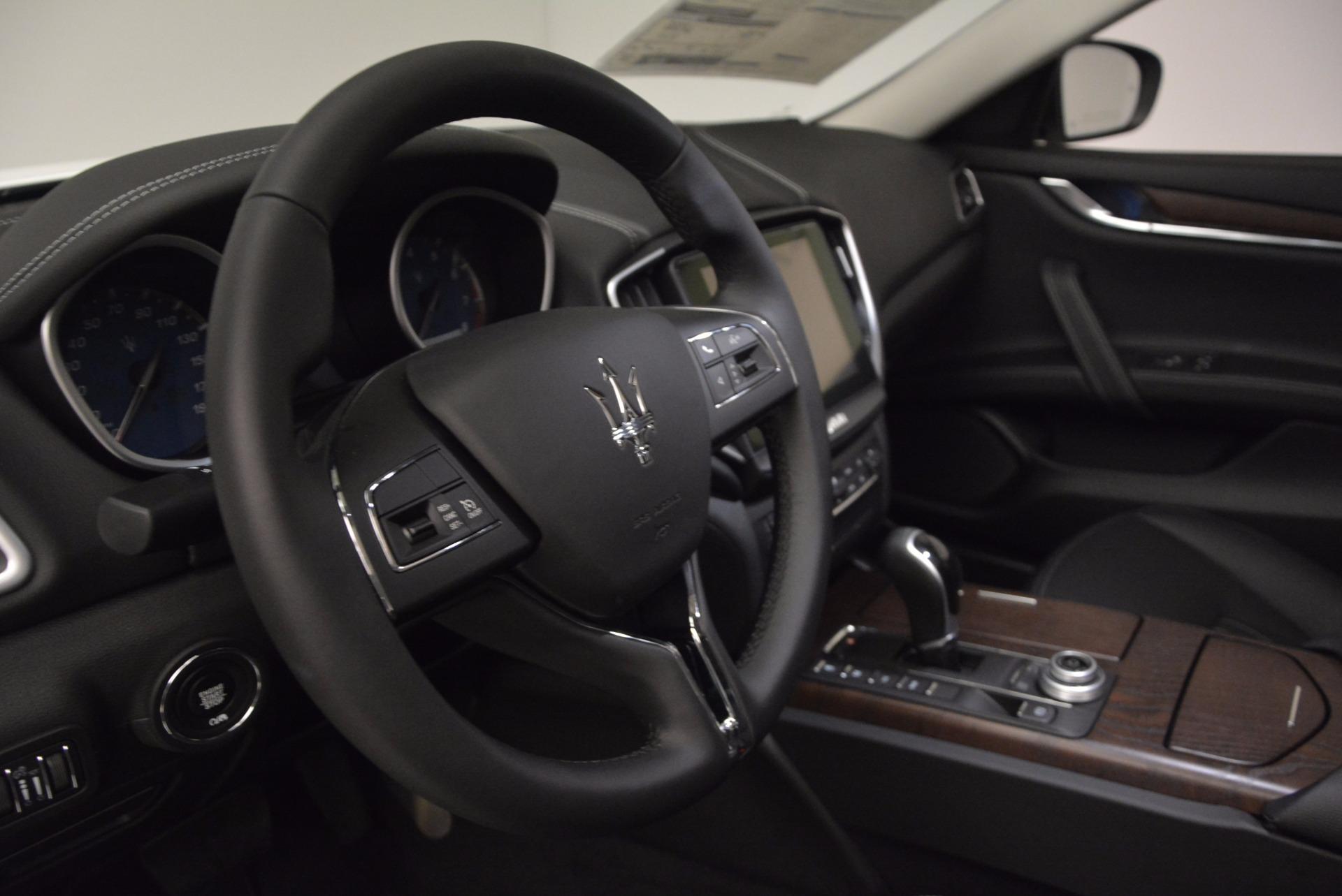 New 2017 Maserati Ghibli SQ4 For Sale In Greenwich, CT 1036_p16