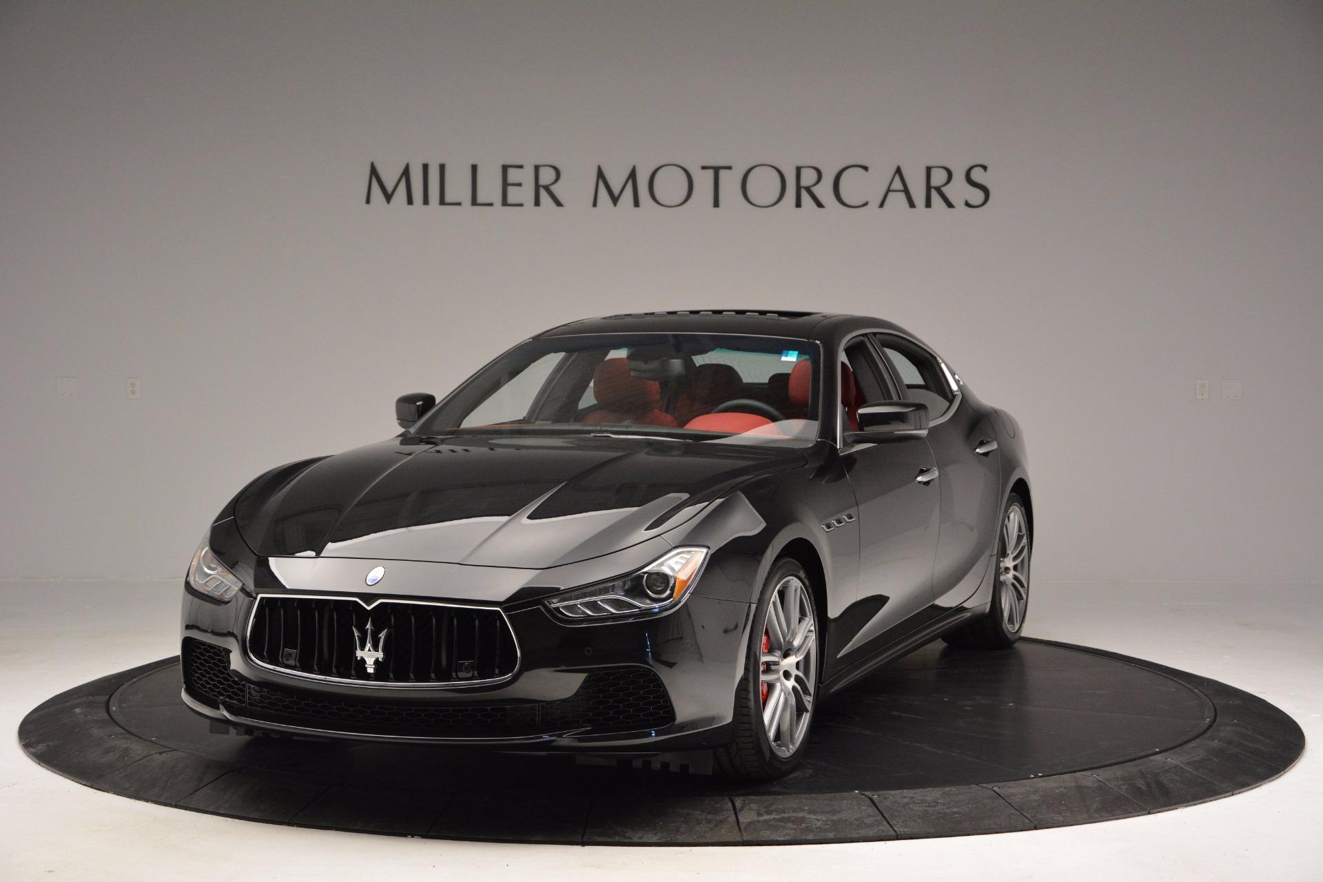 New 2017 Maserati Ghibli S Q4 For Sale In Greenwich, CT 1037_main