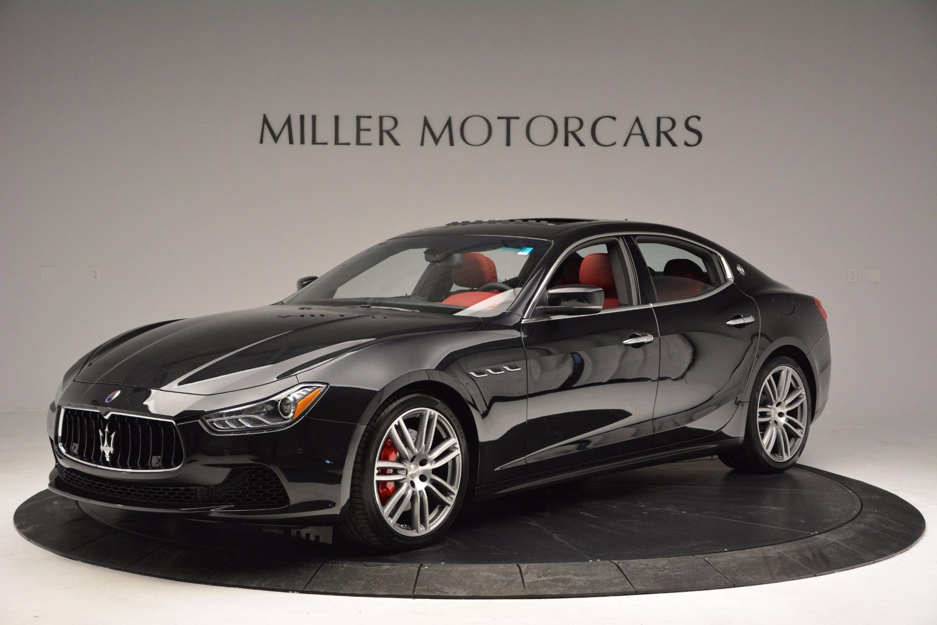 New 2017 Maserati Ghibli S Q4 For Sale In Greenwich, CT 1037_p2