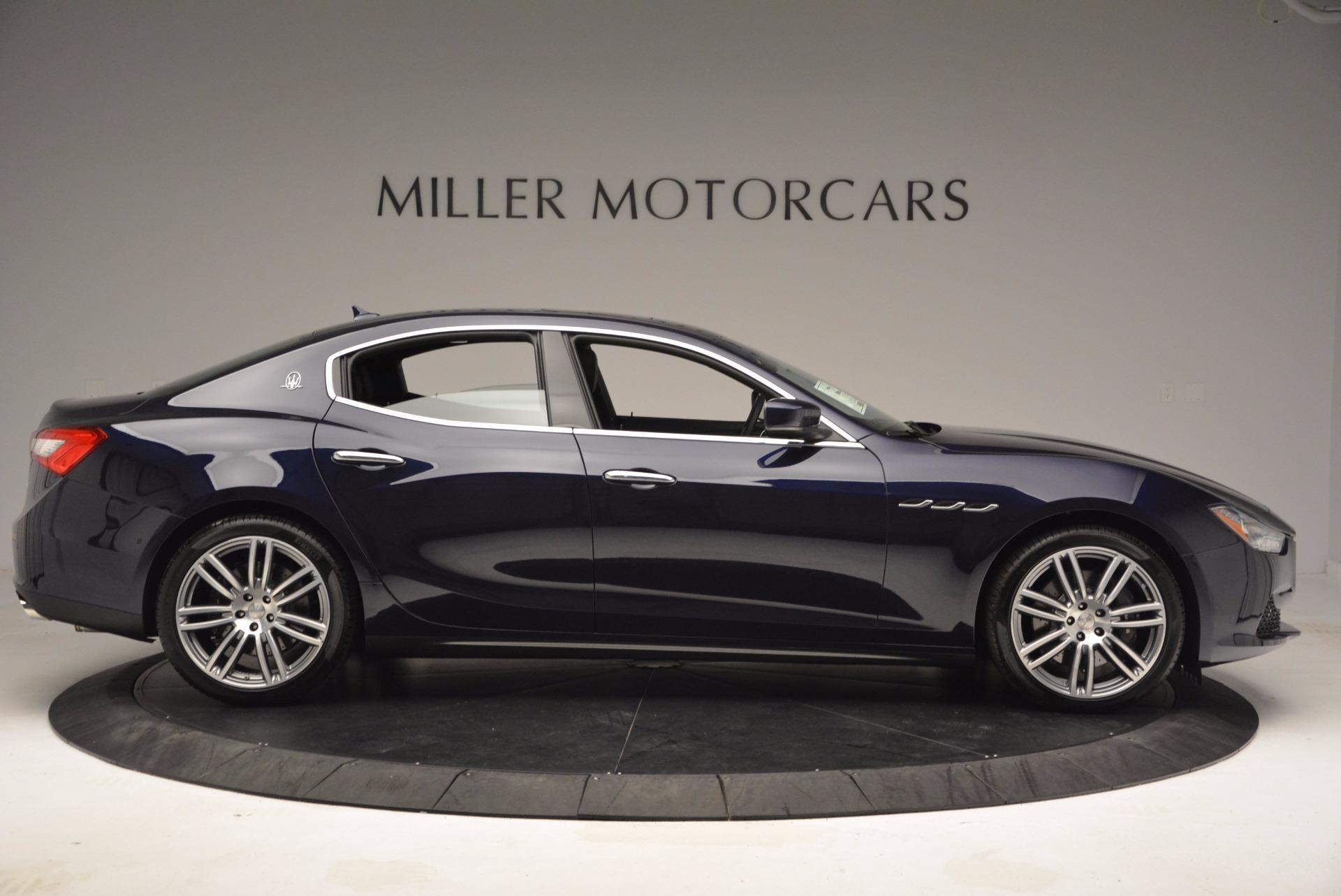 New 2017 Maserati Ghibli S Q4 For Sale In Greenwich, CT 1041_p9
