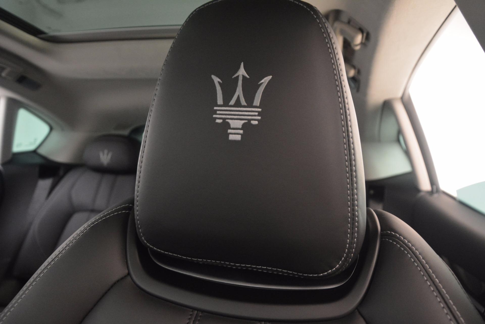 Used 2017 Maserati Levante  For Sale In Greenwich, CT 1046_p17