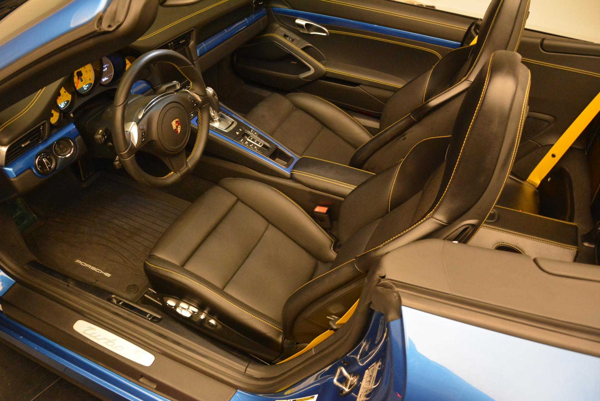 Used 2014 Porsche 911 Turbo S For Sale In Greenwich, CT 105_p17