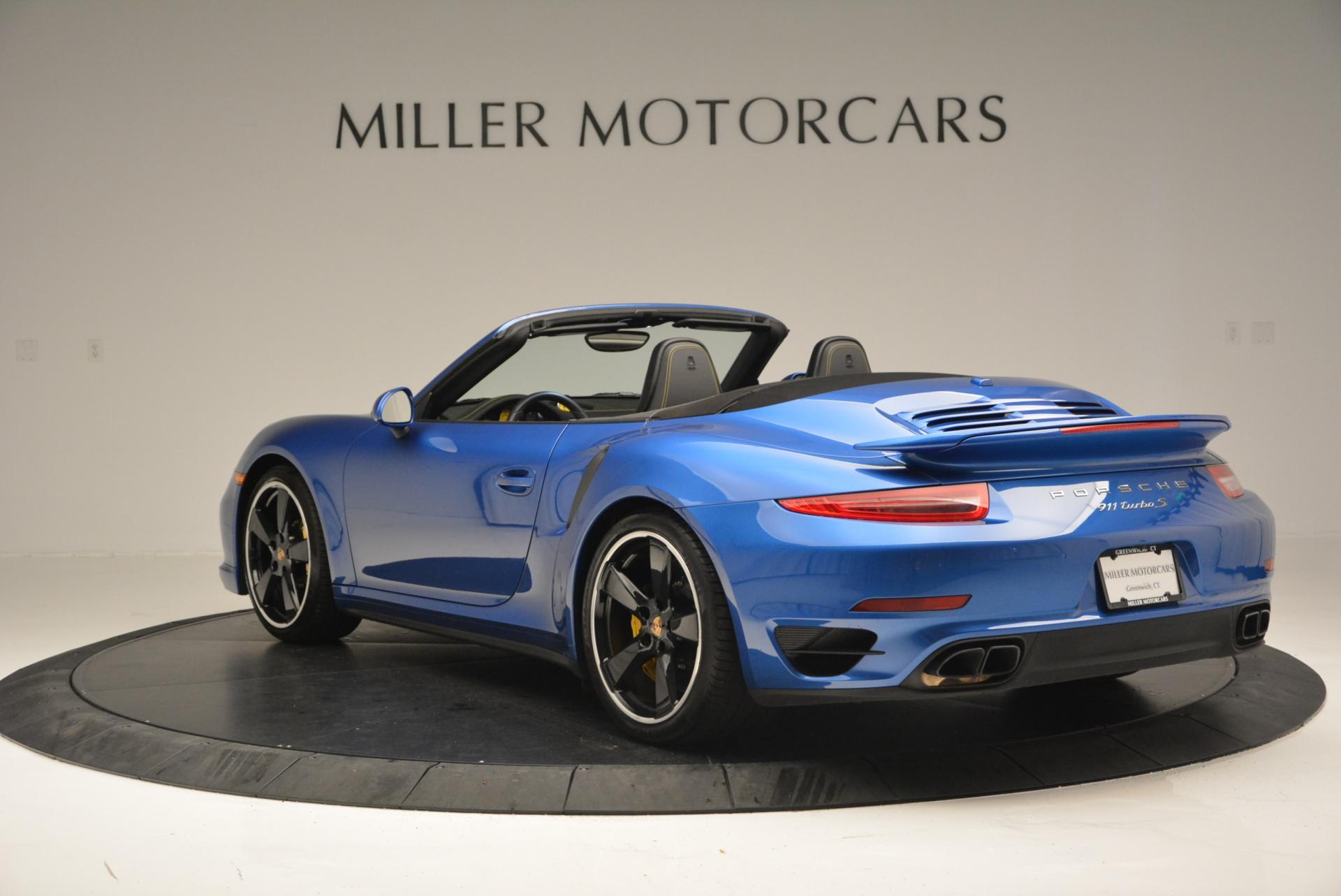 Used 2014 Porsche 911 Turbo S For Sale In Greenwich, CT 105_p5