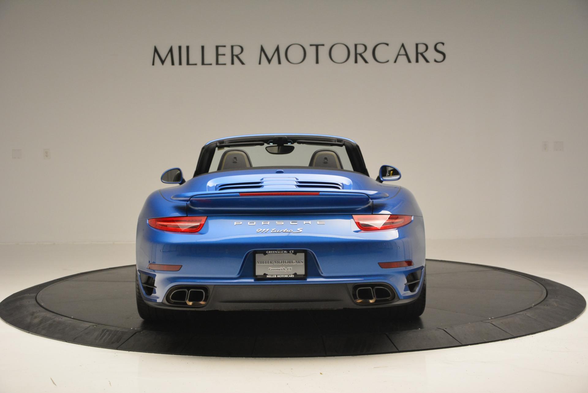 Used 2014 Porsche 911 Turbo S For Sale In Greenwich, CT 105_p6