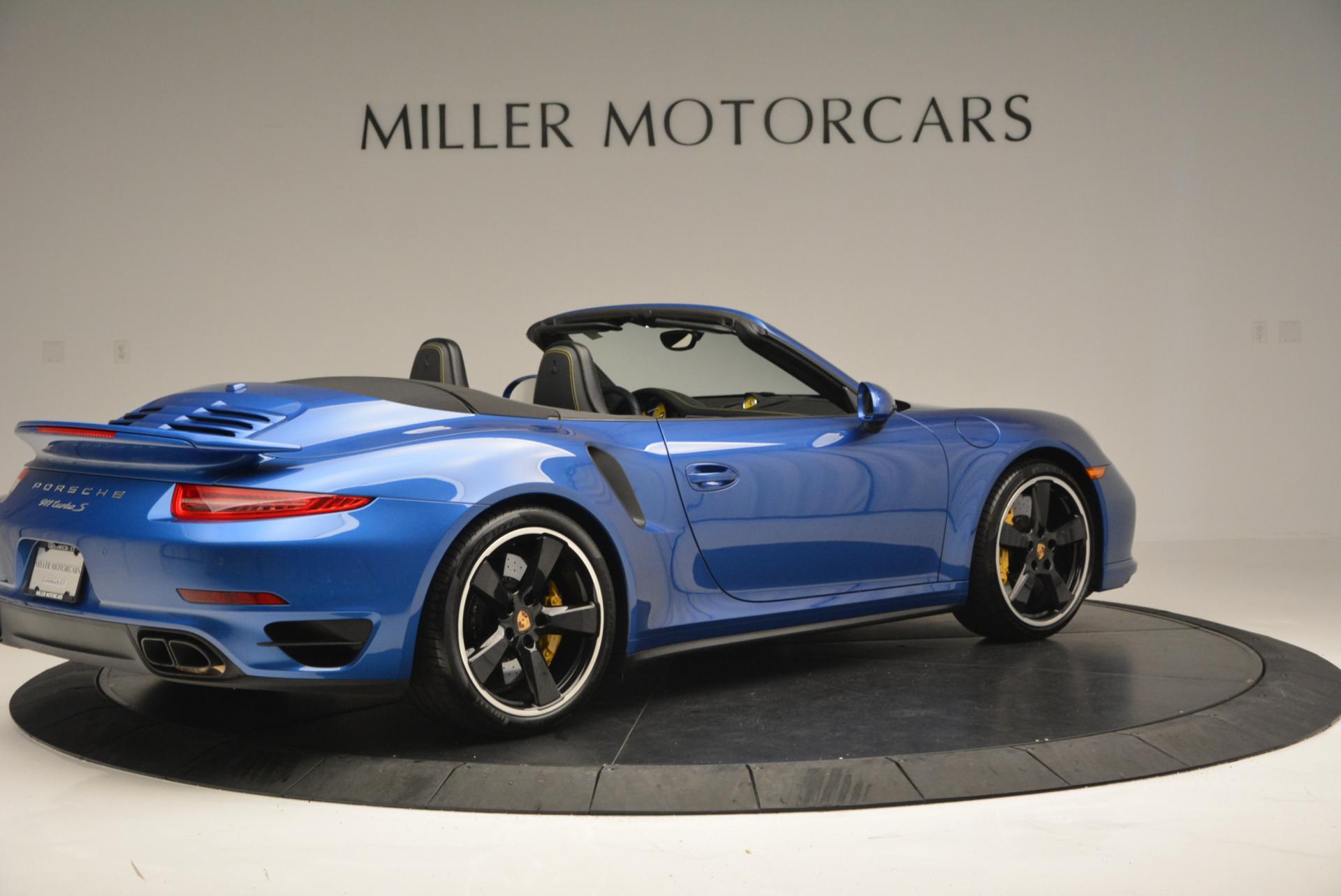 Used 2014 Porsche 911 Turbo S For Sale In Greenwich, CT 105_p8