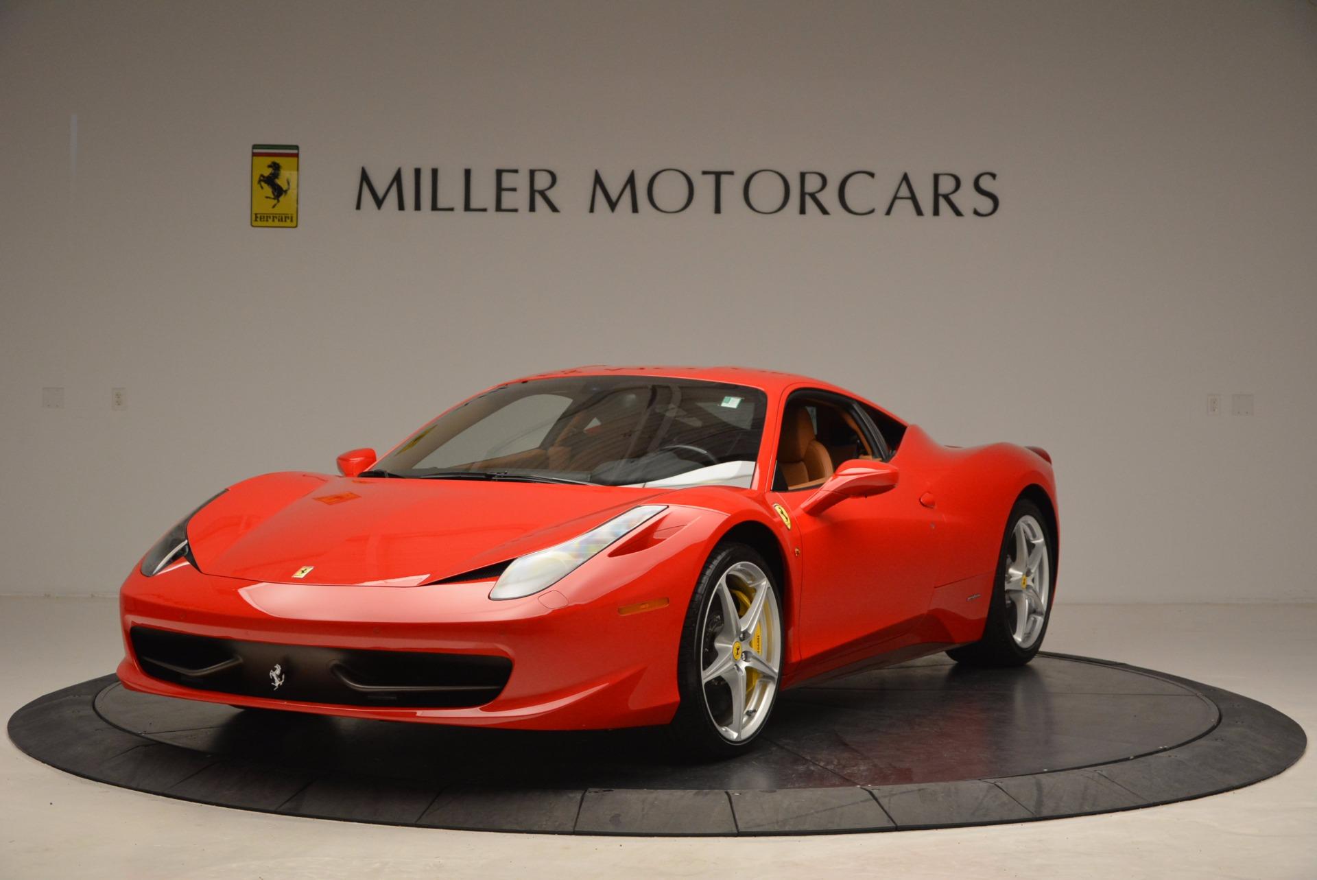 Used 2011 Ferrari 458 Italia  For Sale In Greenwich, CT 1054_main