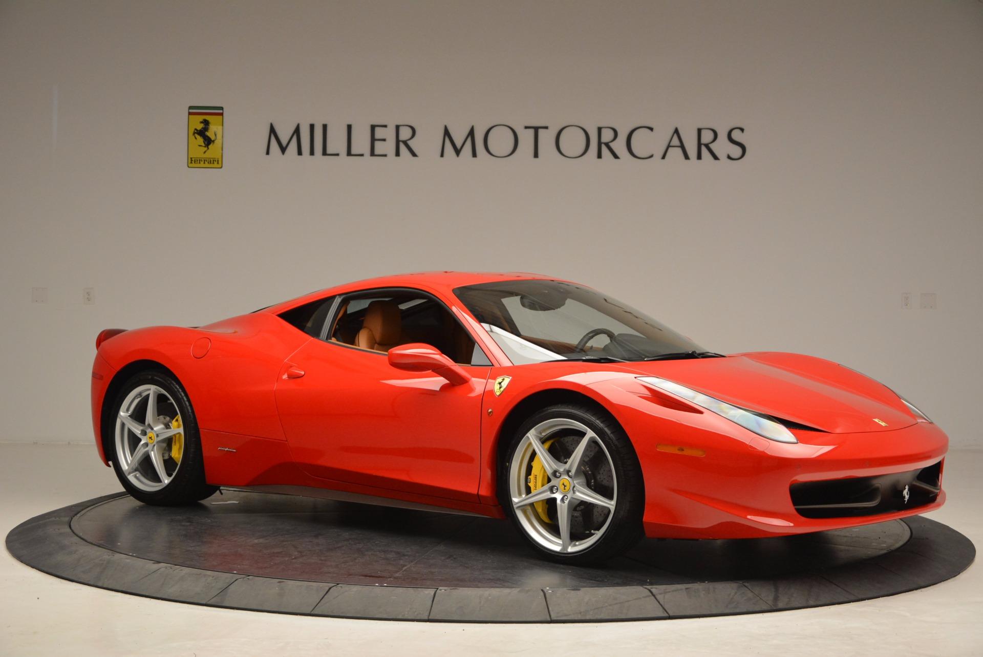 Used 2011 Ferrari 458 Italia  For Sale In Greenwich, CT 1054_p10