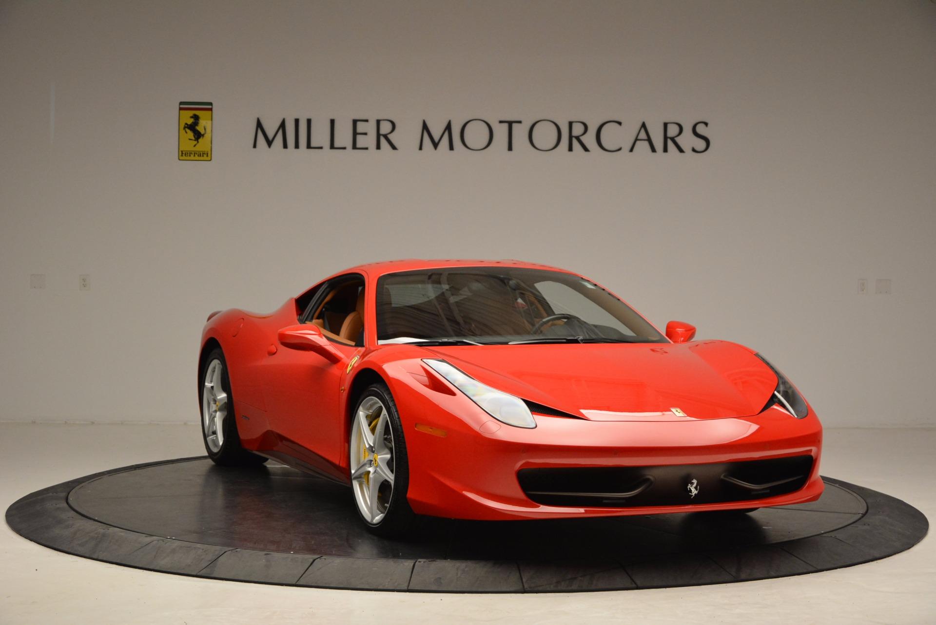 Used 2011 Ferrari 458 Italia  For Sale In Greenwich, CT 1054_p11