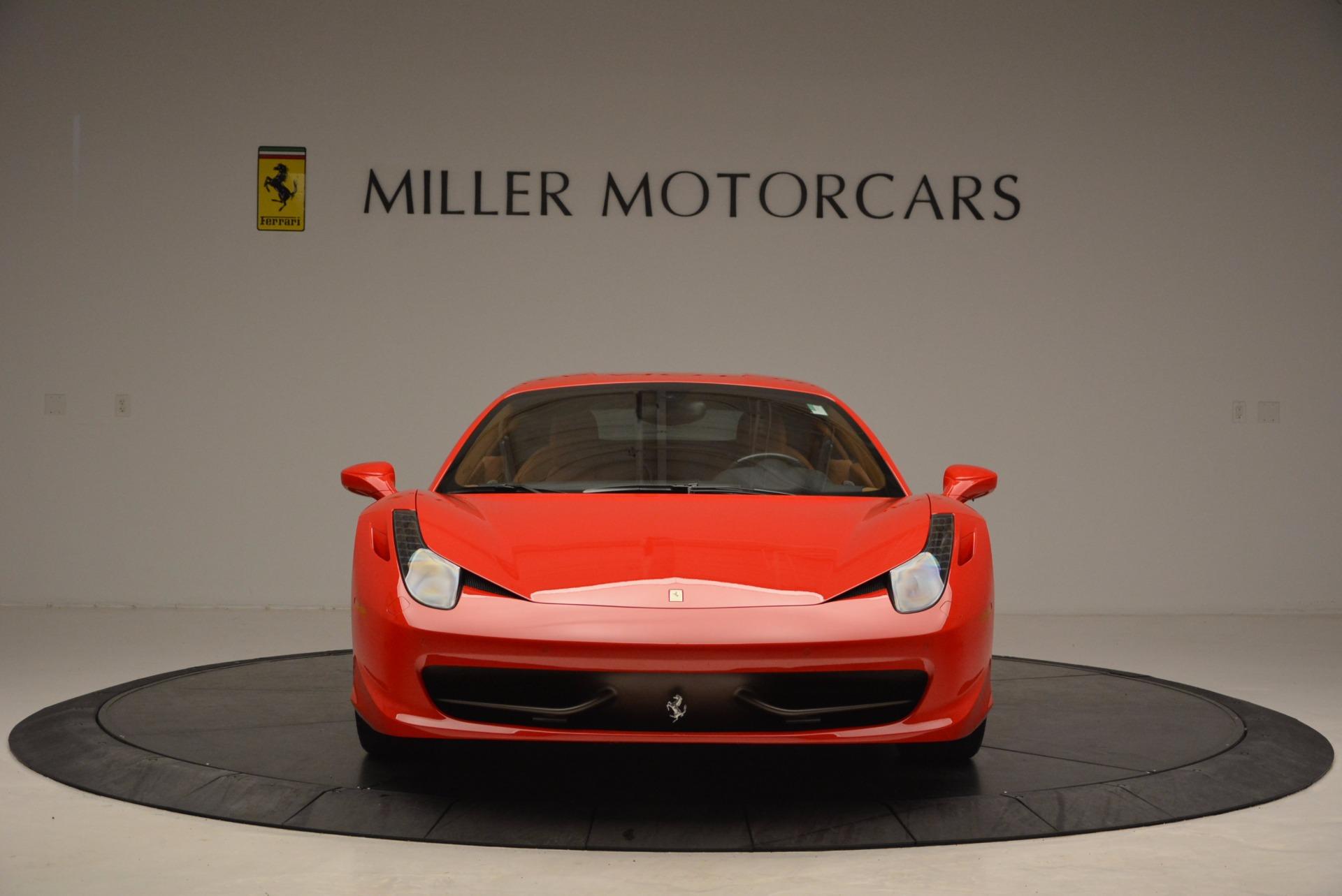 Used 2011 Ferrari 458 Italia  For Sale In Greenwich, CT 1054_p12