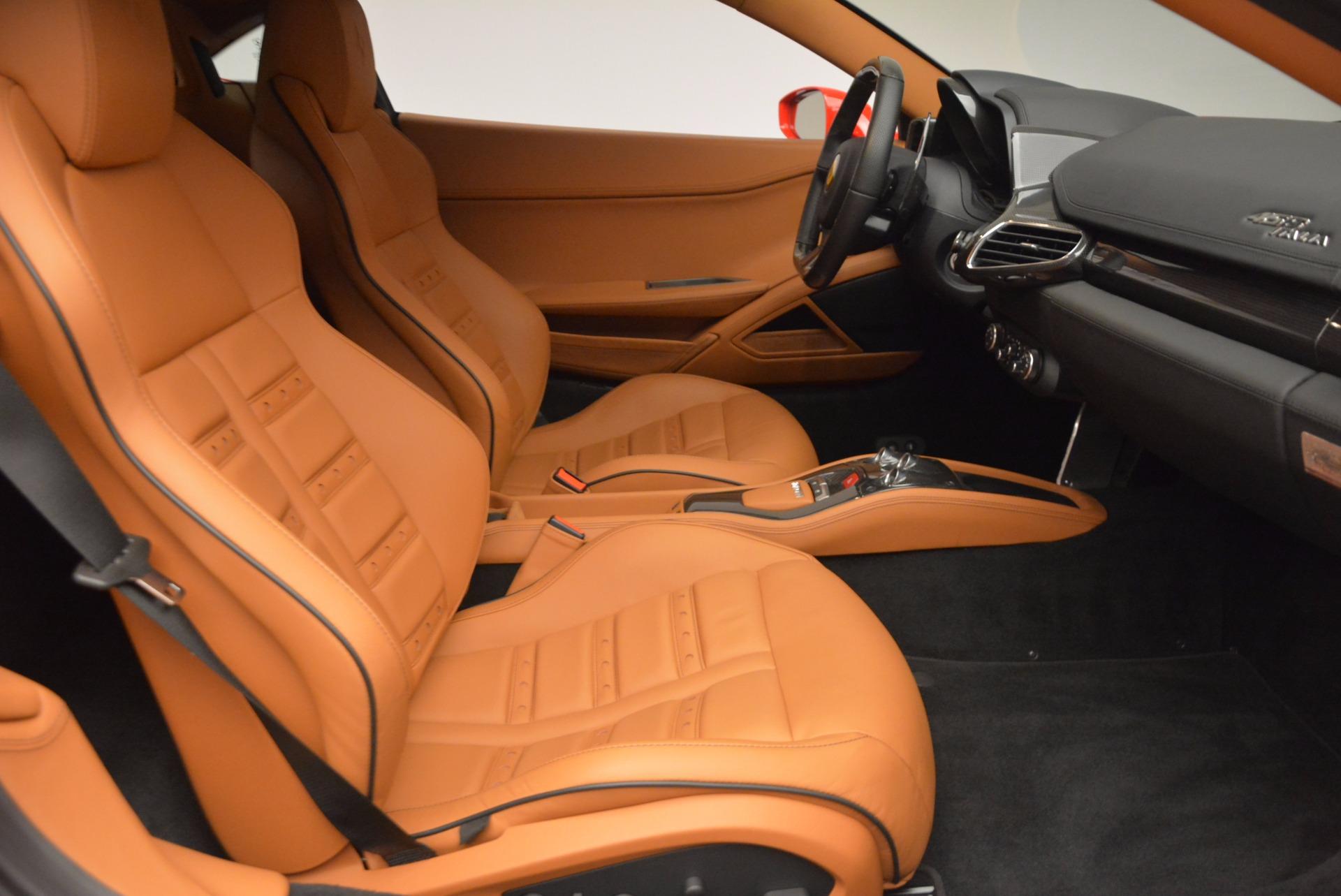 Used 2011 Ferrari 458 Italia  For Sale In Greenwich, CT 1054_p18