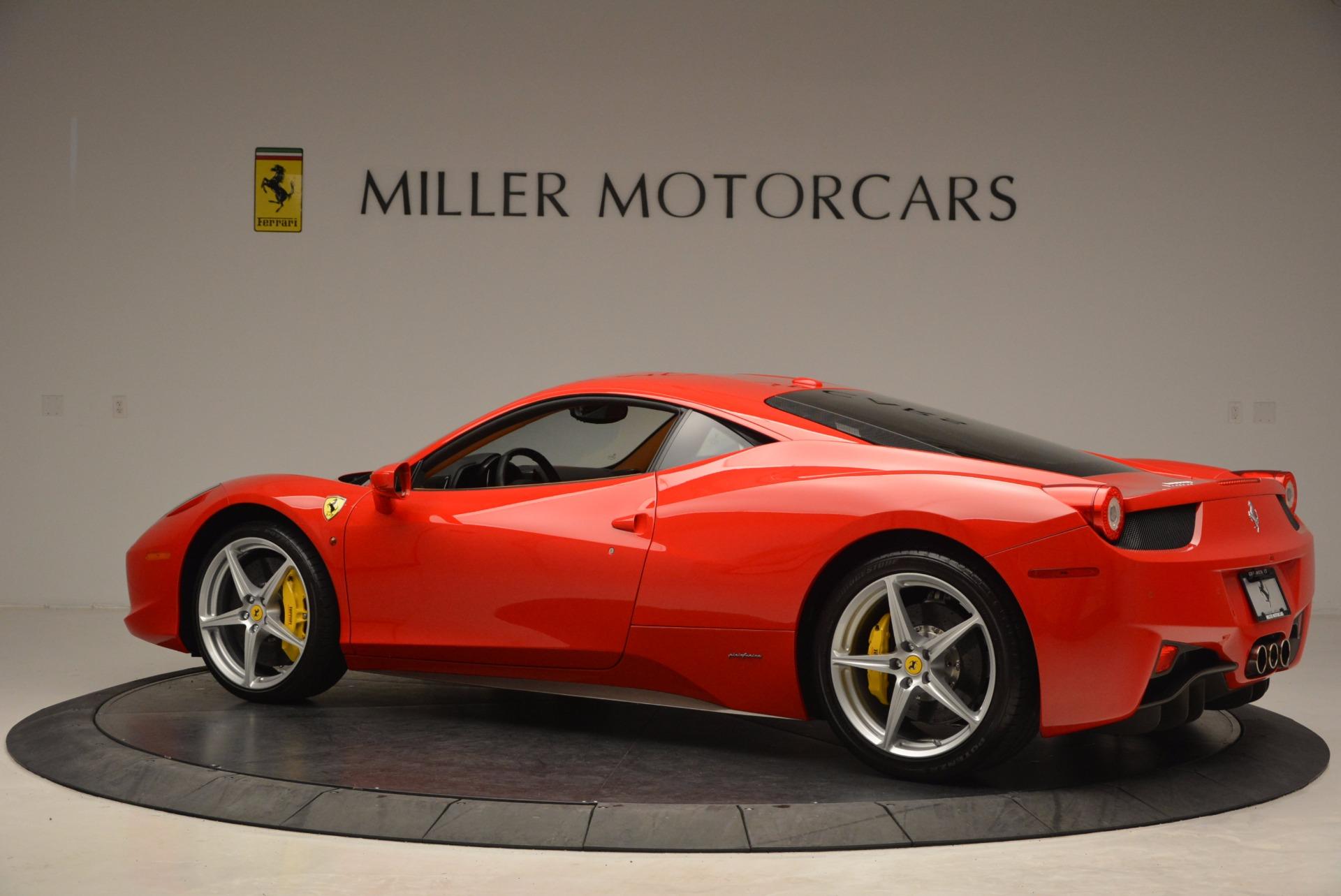 Used 2011 Ferrari 458 Italia  For Sale In Greenwich, CT 1054_p4