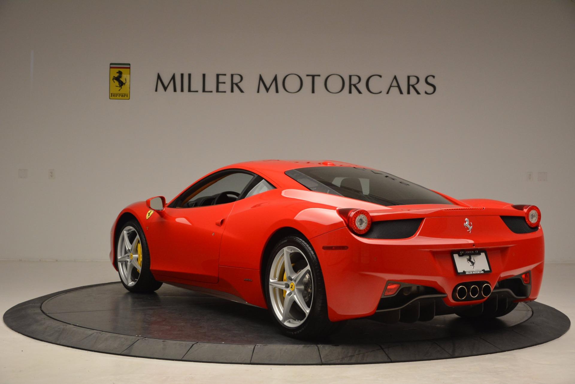 Used 2011 Ferrari 458 Italia  For Sale In Greenwich, CT 1054_p5