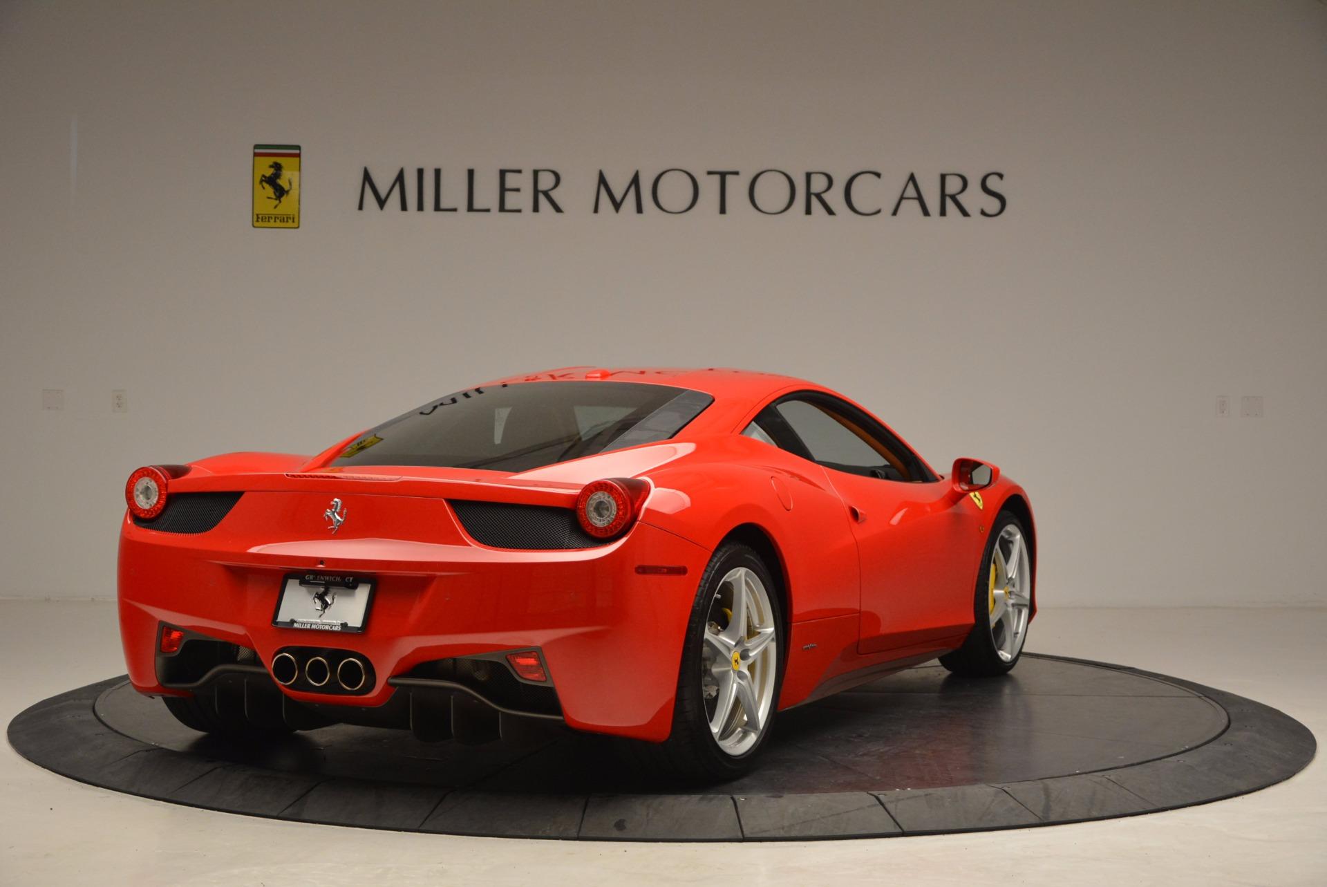 Used 2011 Ferrari 458 Italia  For Sale In Greenwich, CT 1054_p7