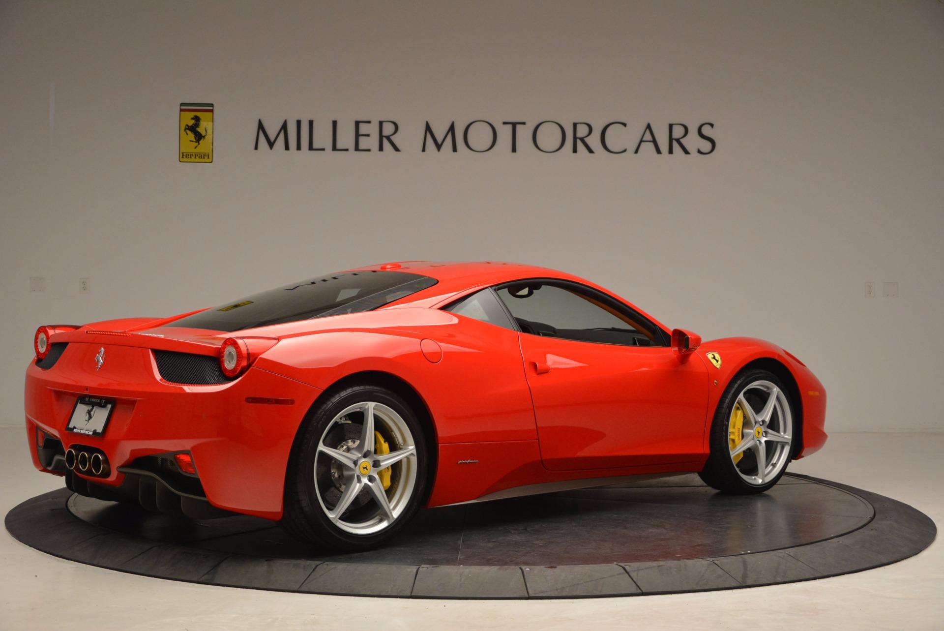 Used 2011 Ferrari 458 Italia  For Sale In Greenwich, CT 1054_p8