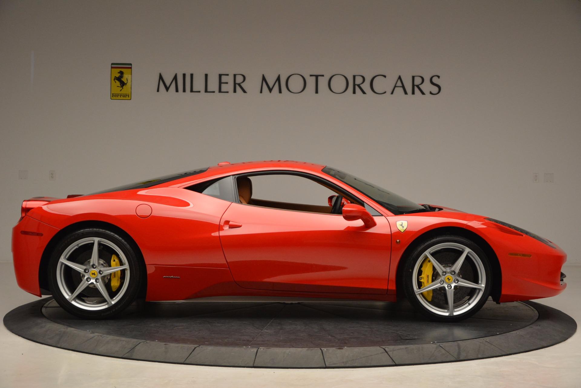 Used 2011 Ferrari 458 Italia  For Sale In Greenwich, CT 1054_p9