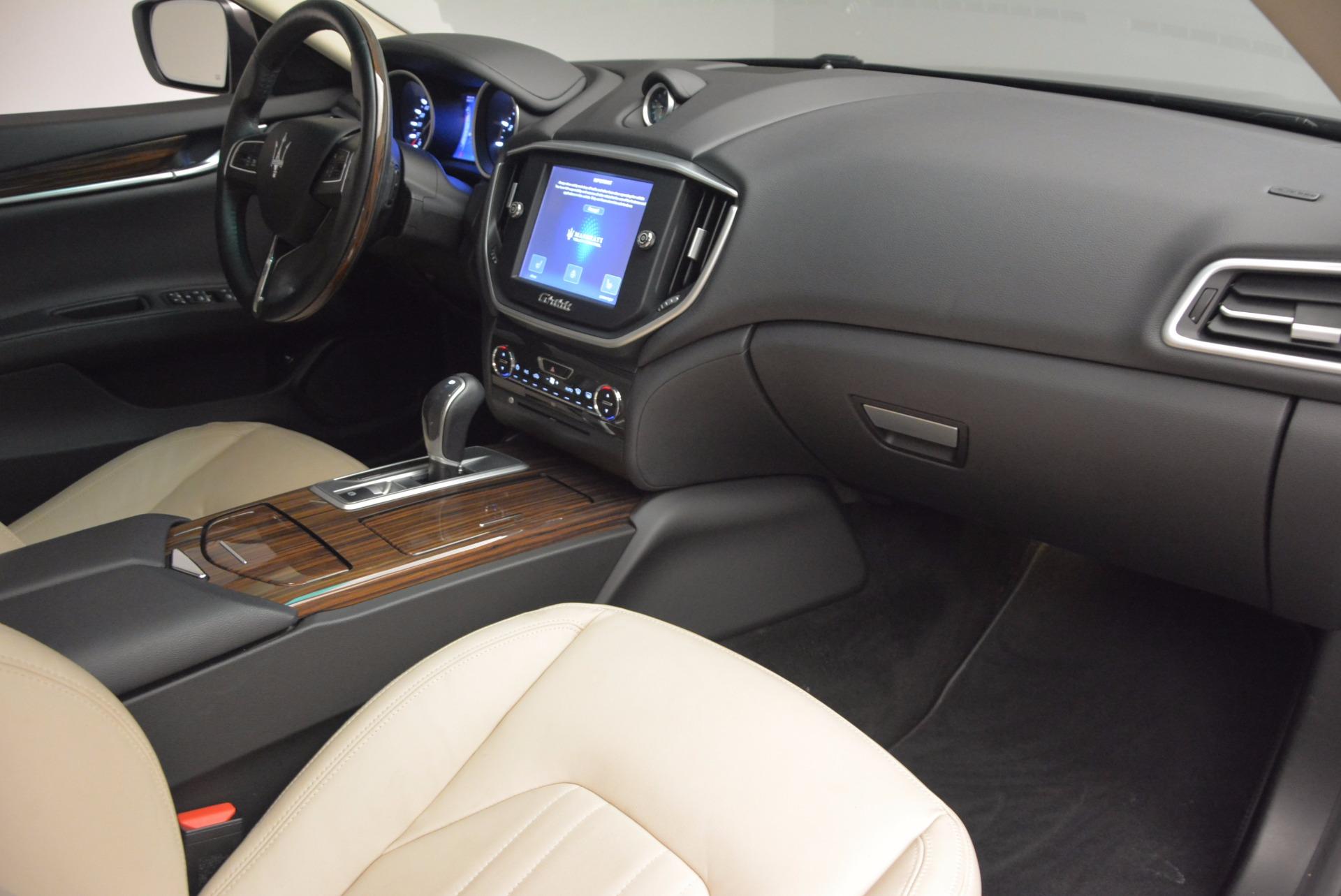 Used 2015 Maserati Ghibli S Q4 For Sale In Greenwich, CT 1059_p19