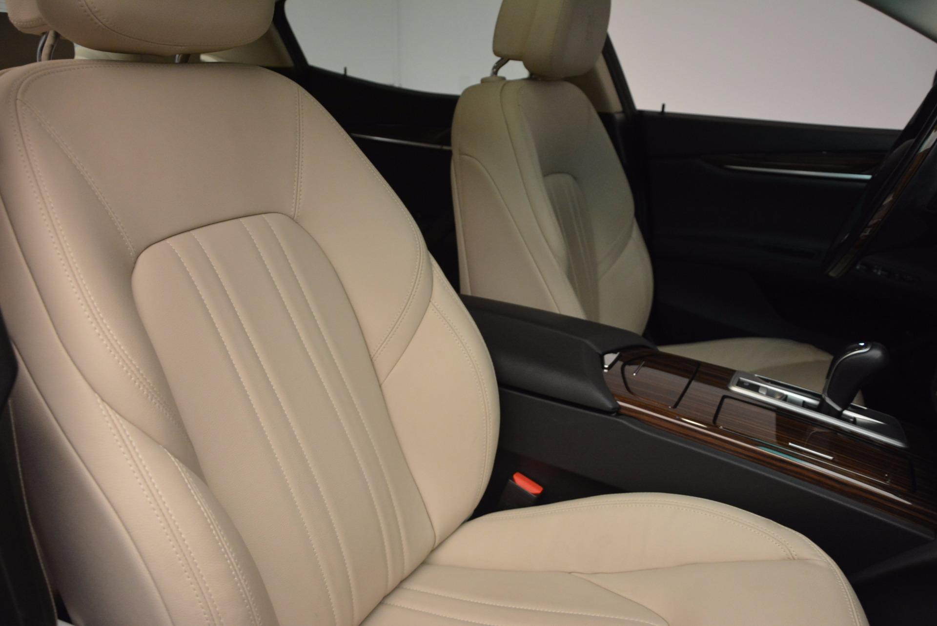 Used 2015 Maserati Ghibli S Q4 For Sale In Greenwich, CT 1059_p21