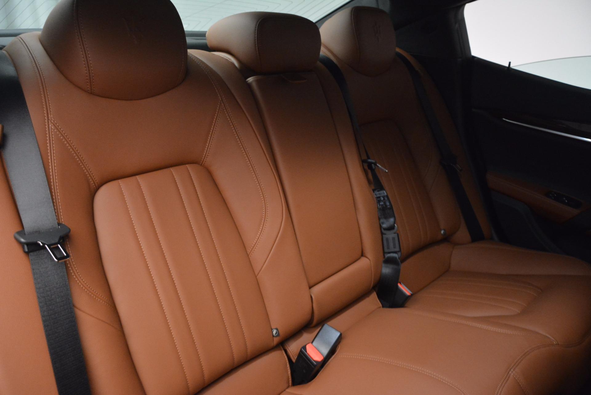 New 2017 Maserati Ghibli SQ4 S Q4 For Sale In Greenwich, CT 1085_p24