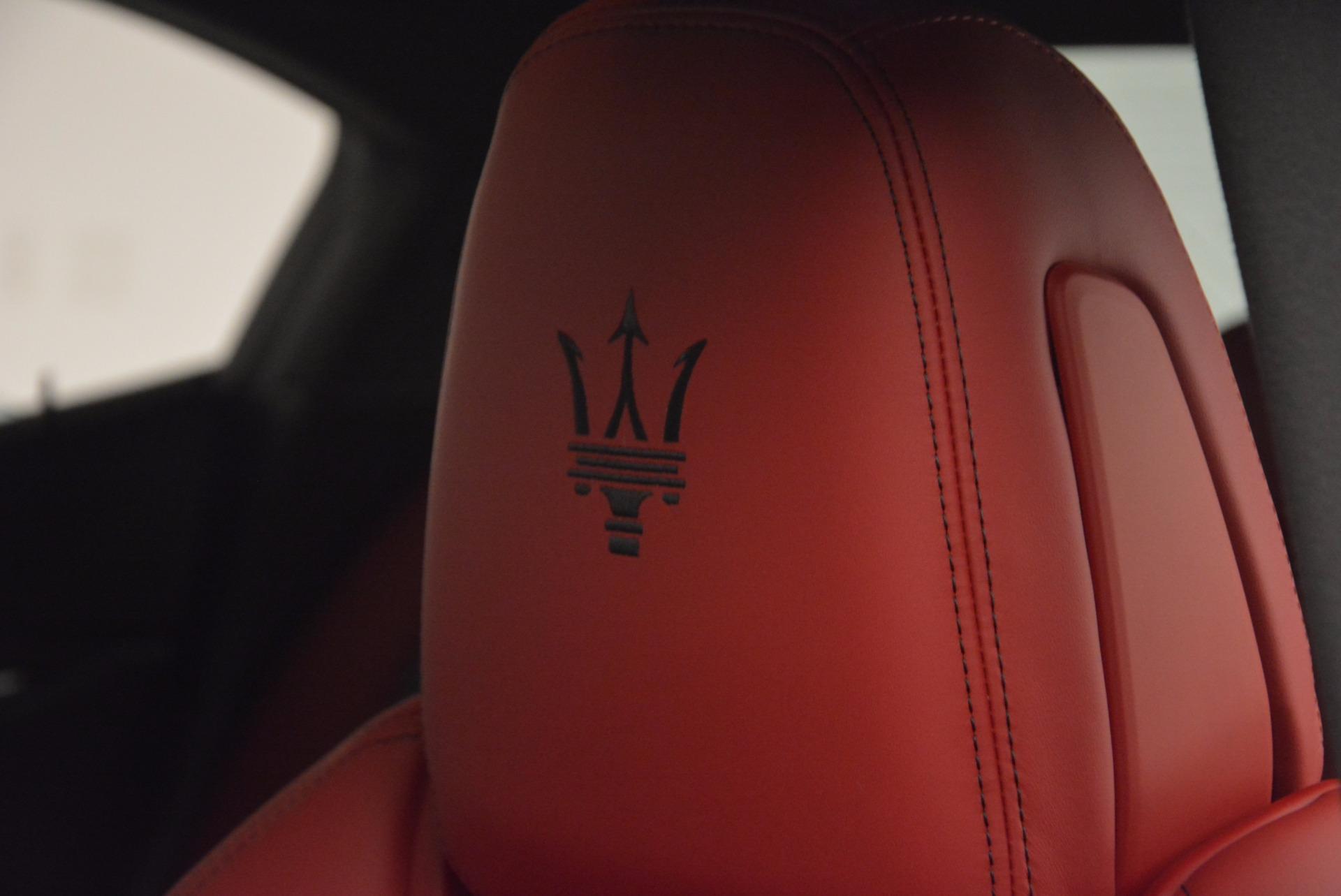 New 2017 Maserati Ghibli SQ4 For Sale In Greenwich, CT 1086_p21