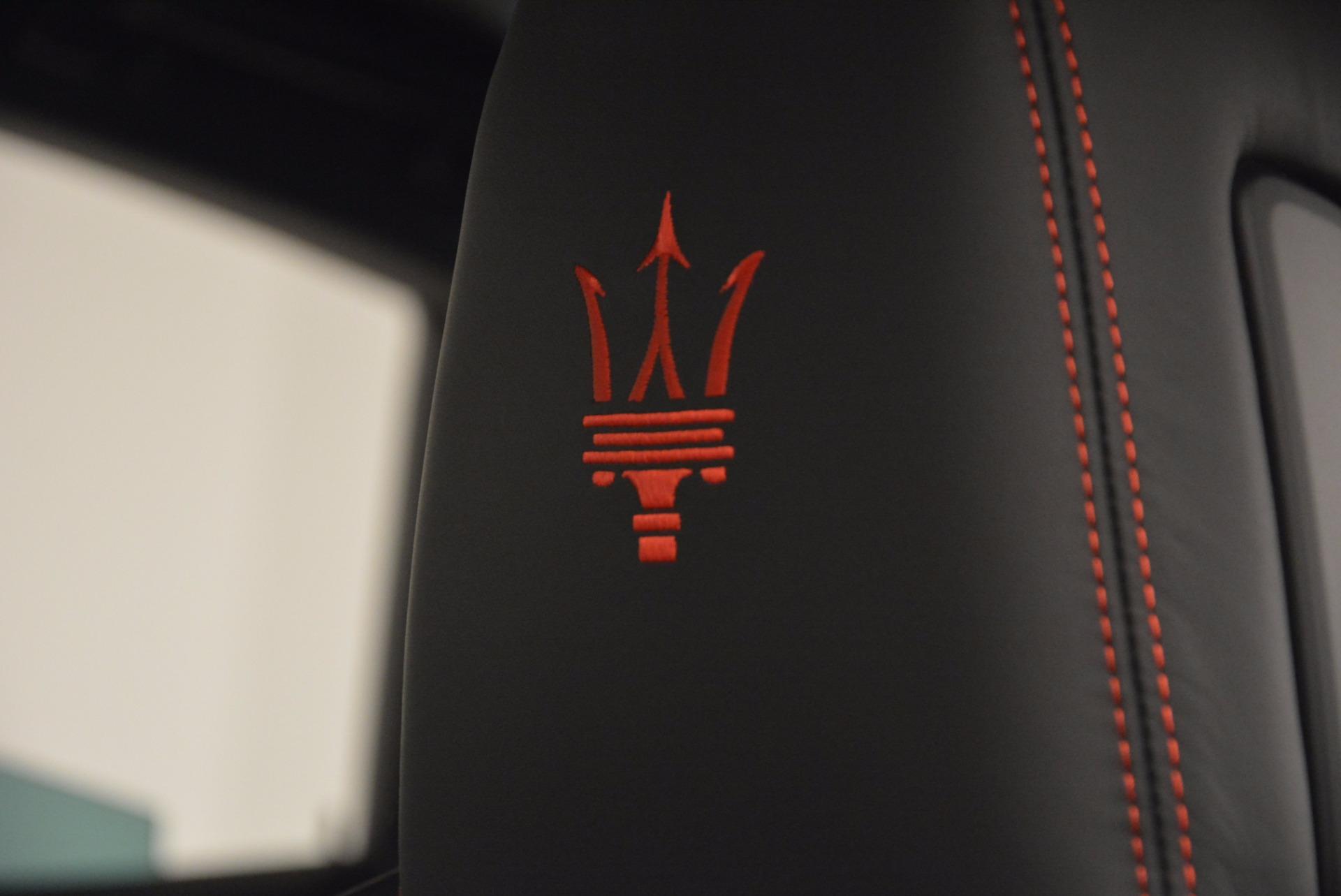 New 2017 Maserati Levante S Q4 For Sale In Greenwich, CT 1094_p18