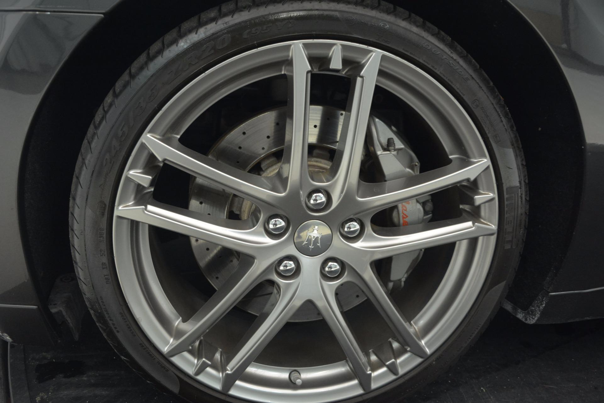 Used 2012 Maserati GranTurismo Sport For Sale In Greenwich, CT 1097_p20