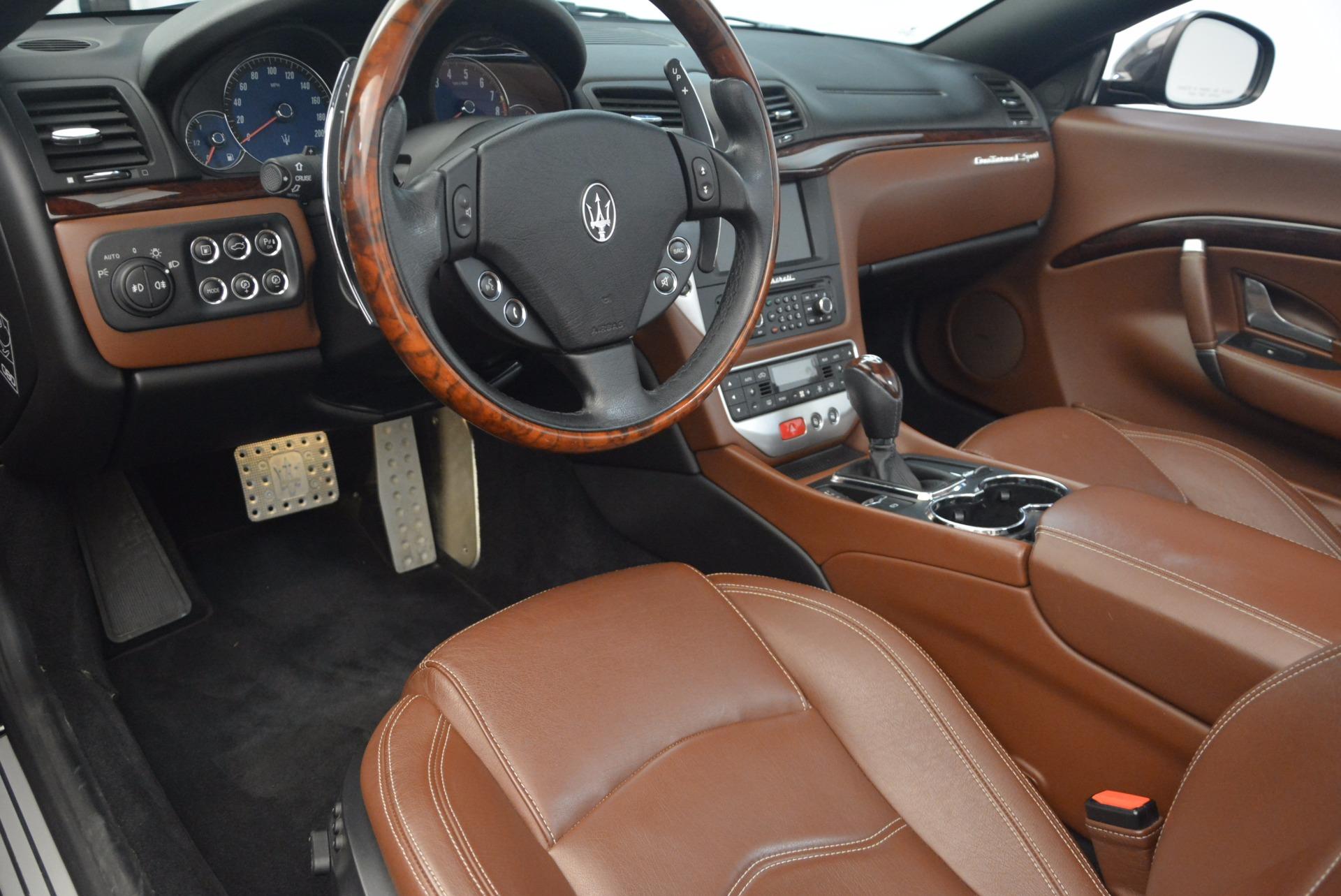 Used 2012 Maserati GranTurismo Sport For Sale In Greenwich, CT 1097_p21