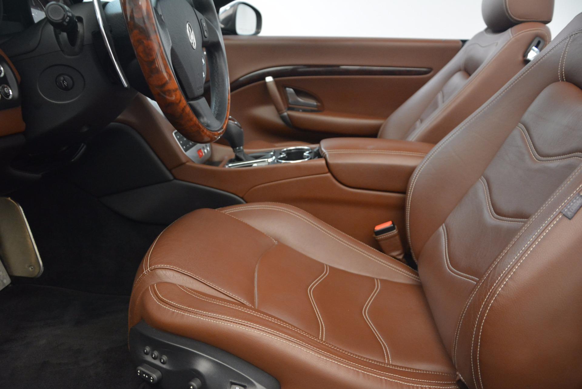 Used 2012 Maserati GranTurismo Sport For Sale In Greenwich, CT 1097_p22