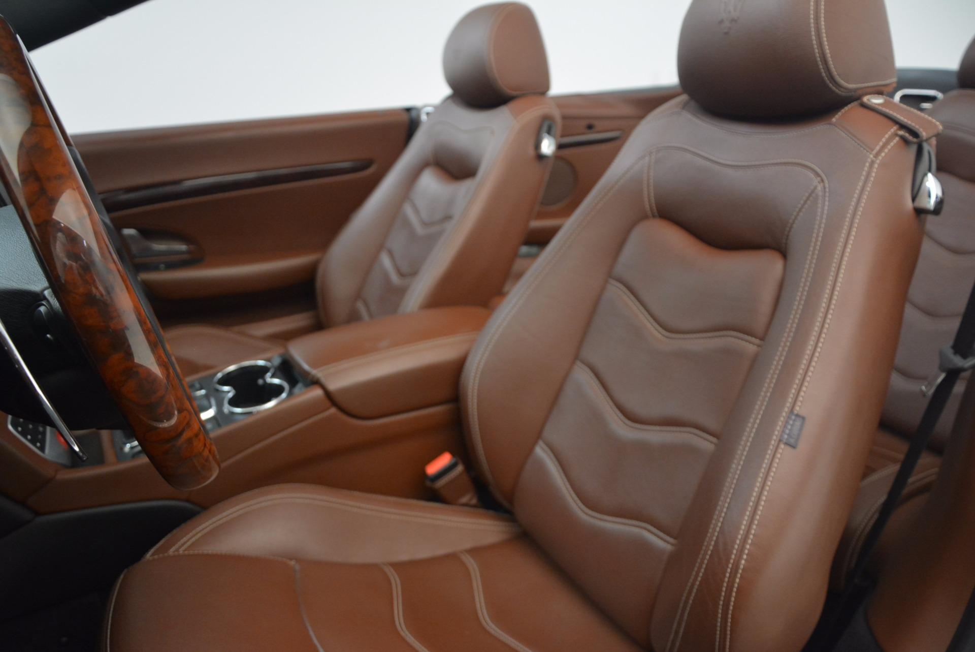 Used 2012 Maserati GranTurismo Sport For Sale In Greenwich, CT 1097_p23