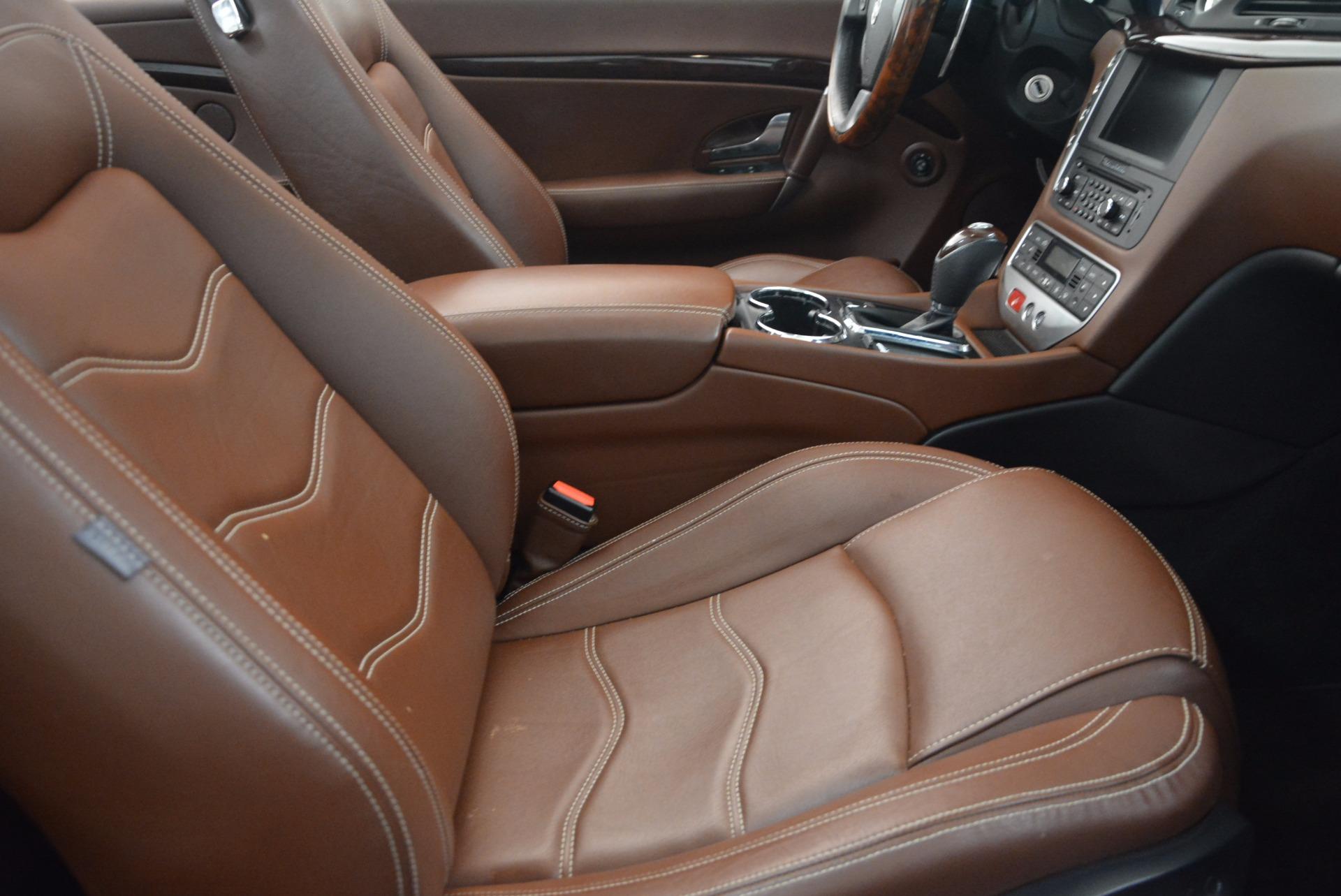 Used 2012 Maserati GranTurismo Sport For Sale In Greenwich, CT 1097_p28