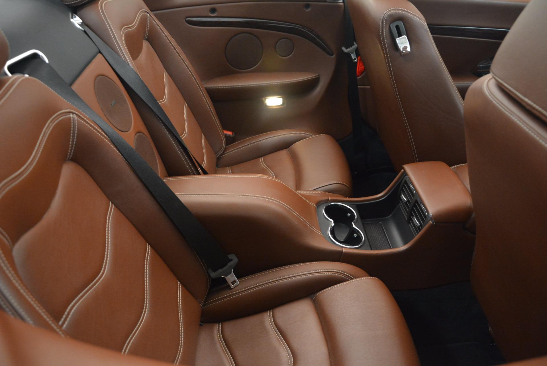 Used 2012 Maserati GranTurismo Sport For Sale In Greenwich, CT 1097_p32