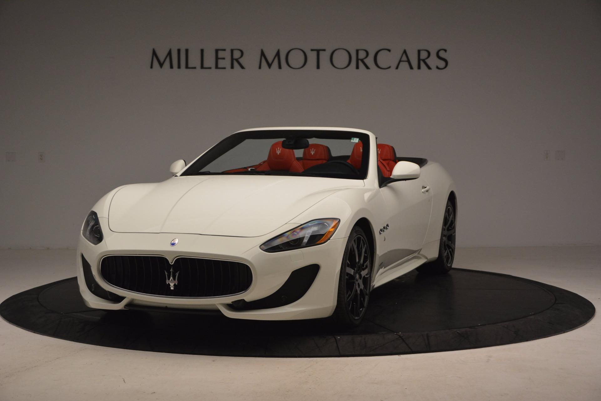 Used 2016 Maserati GranTurismo Sport For Sale In Greenwich, CT 1100_main