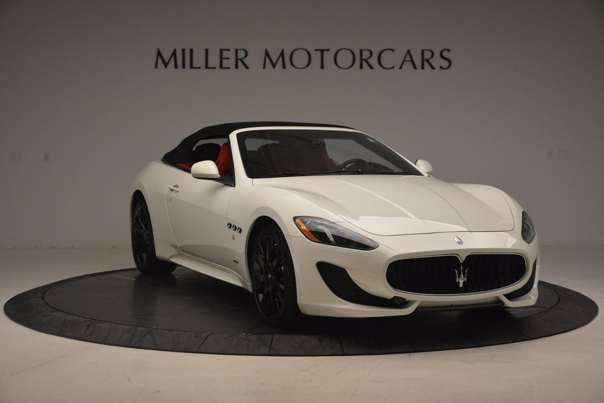 Used 2016 Maserati GranTurismo Sport For Sale In Greenwich, CT 1100_p23