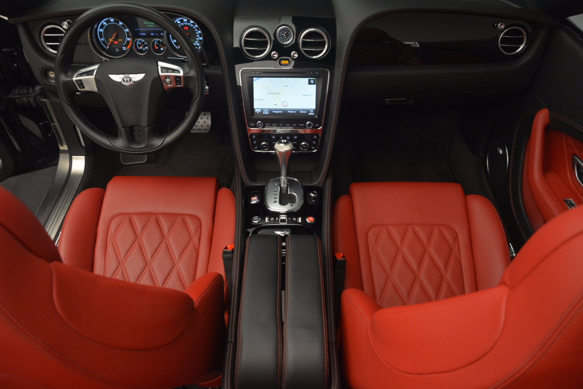 Used 2012 Bentley Continental GT W12 Convertible For Sale In Greenwich, CT 1104_p42